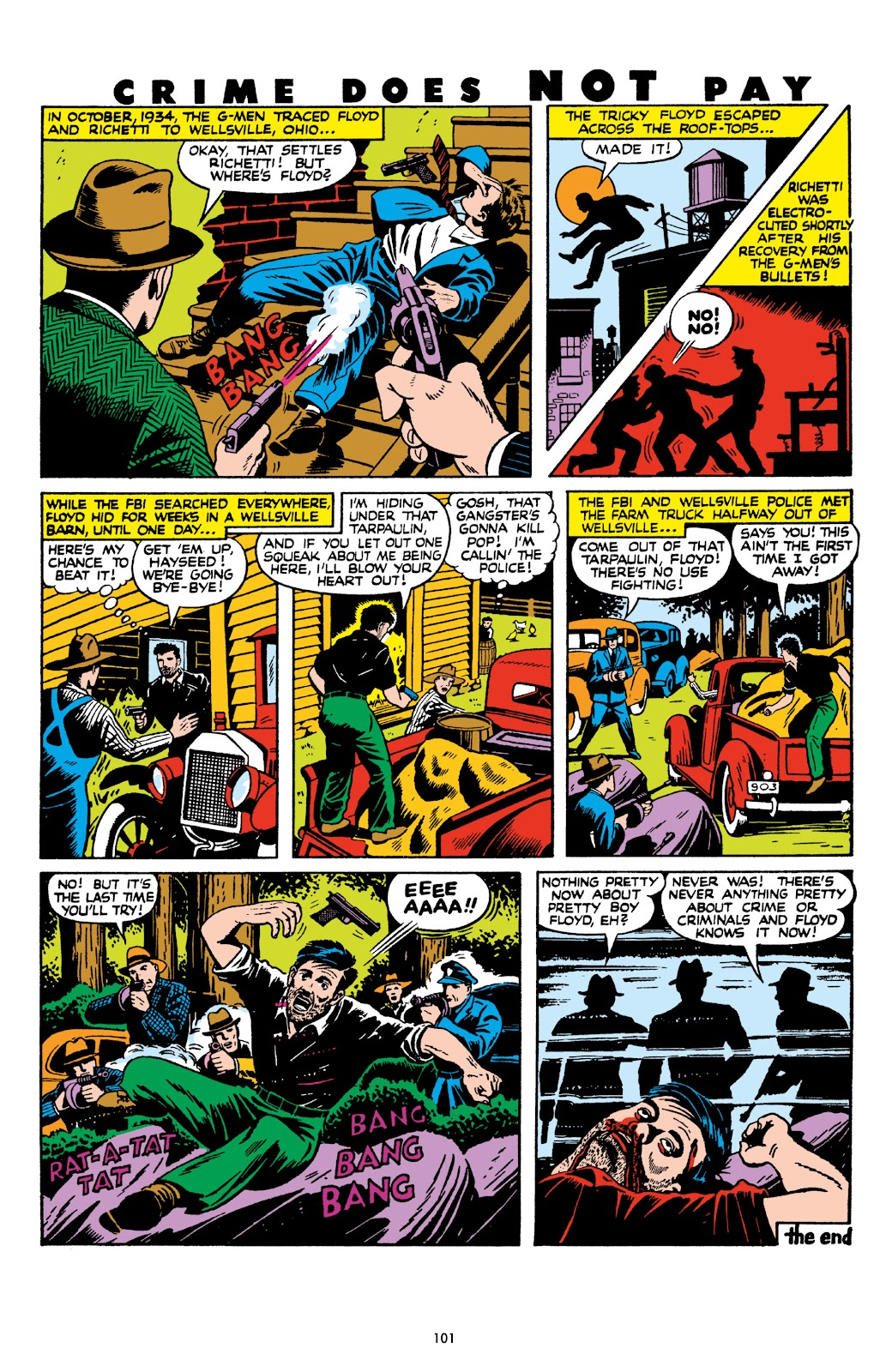 Read online Crime Does Not Pay Archives comic -  Issue # TPB 8 (Part 2) - 2