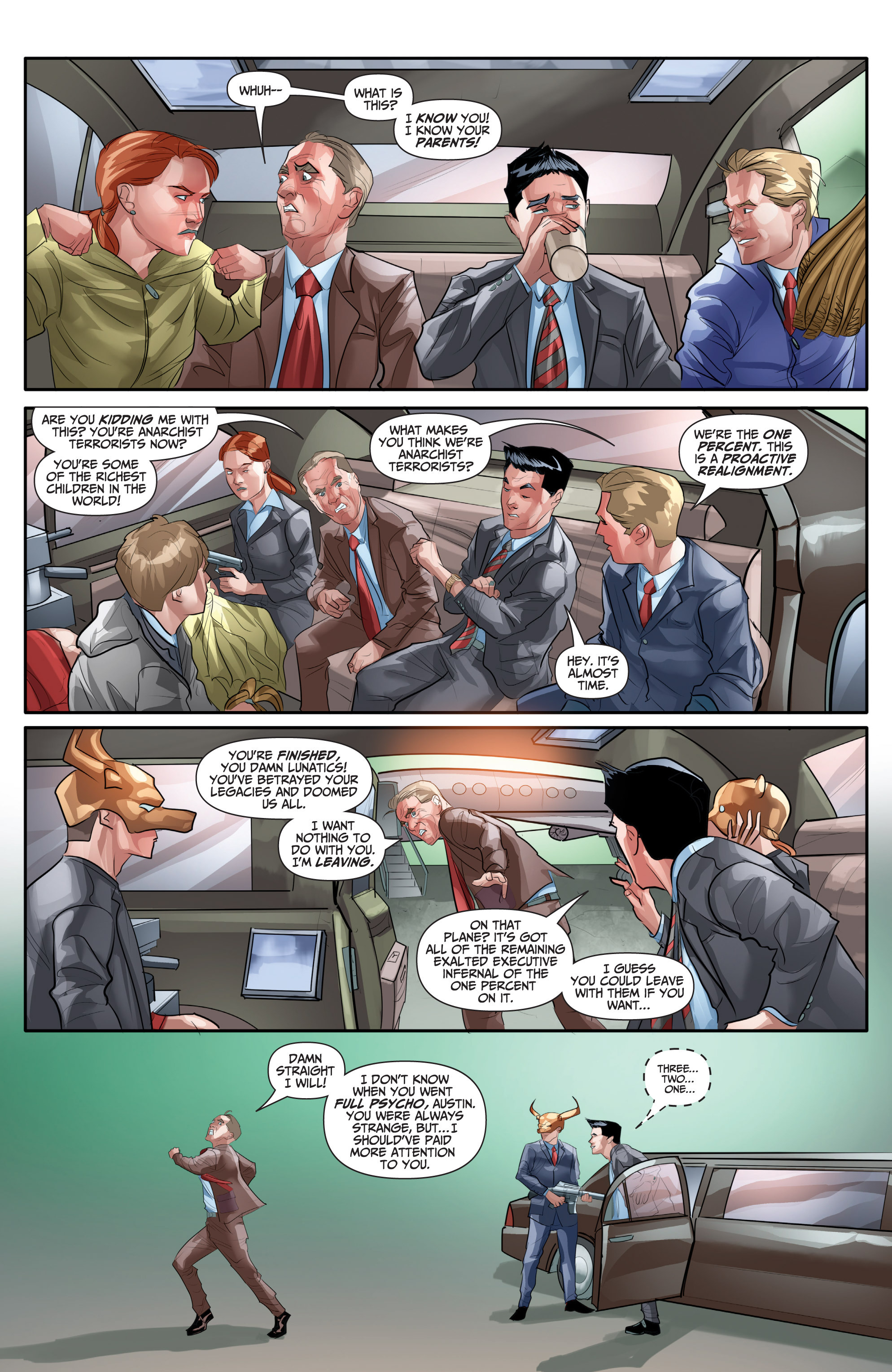 Read online Archer and Armstrong comic -  Issue #Archer and Armstrong _TPB 7 - 70