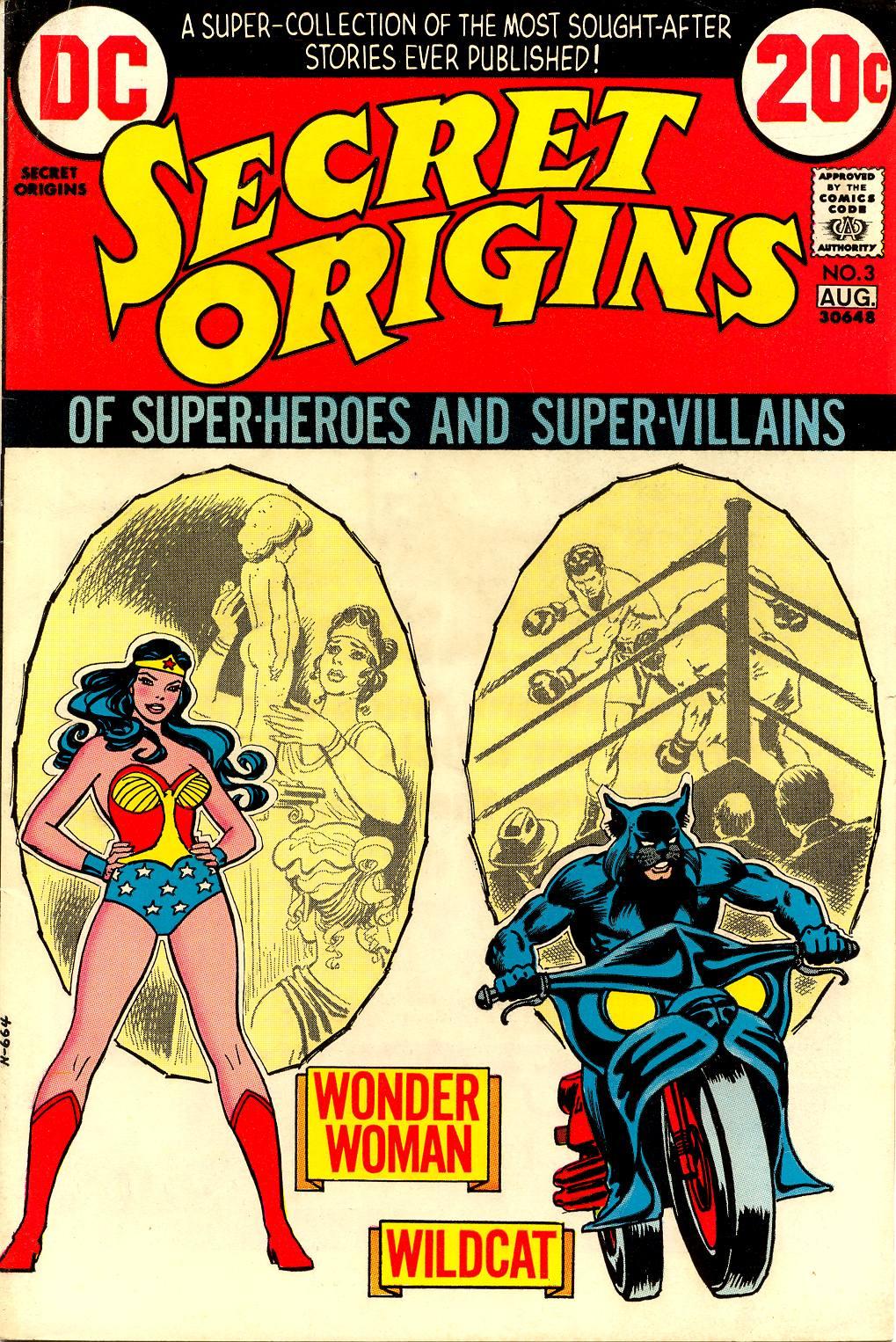 Secret Origins (1973) 3 Page 1