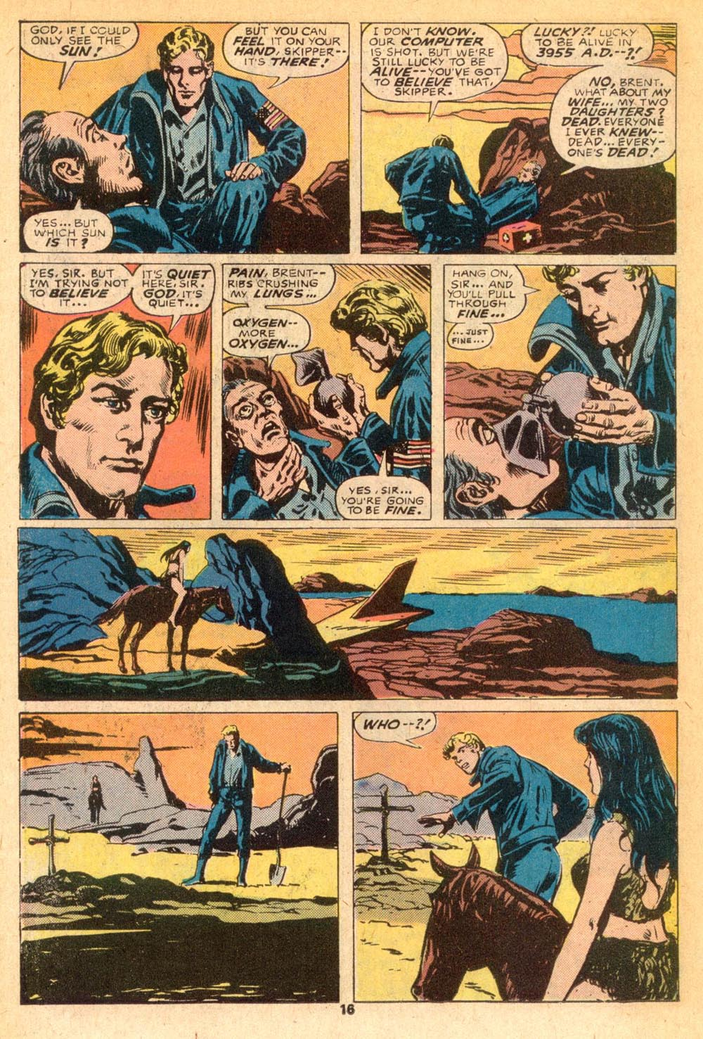 Read online Adventures on the Planet of the Apes comic -  Issue #7 - 11