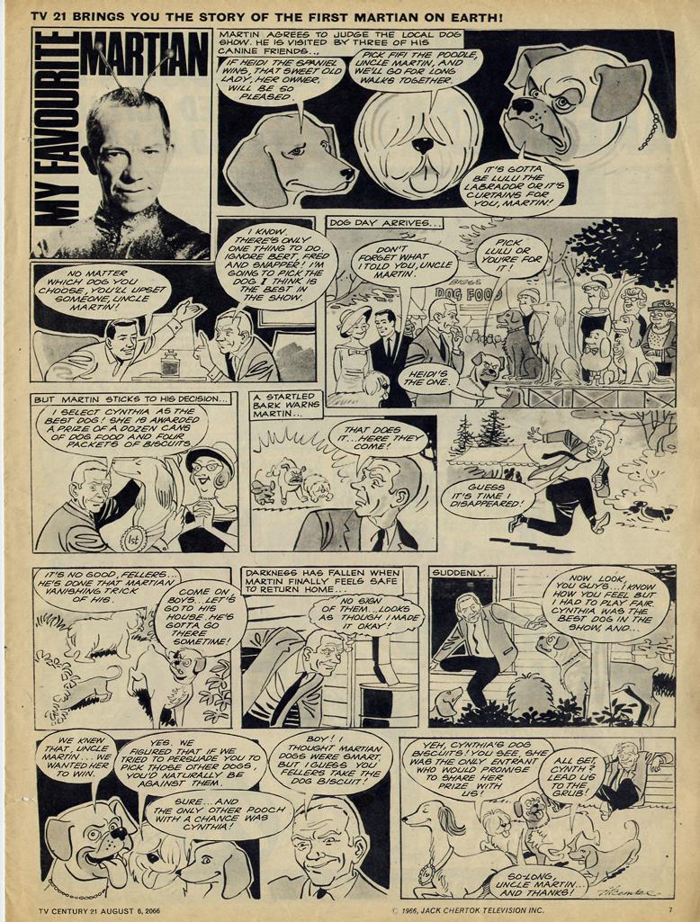 Read online TV Century 21 (TV 21) comic -  Issue #81 - 7