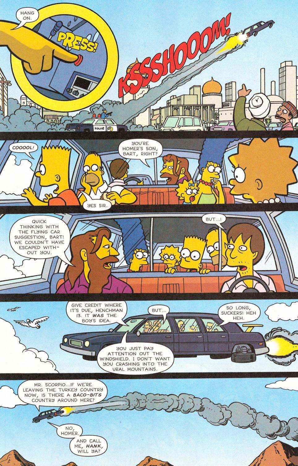Read online Simpsons Comics comic -  Issue #117 - 11