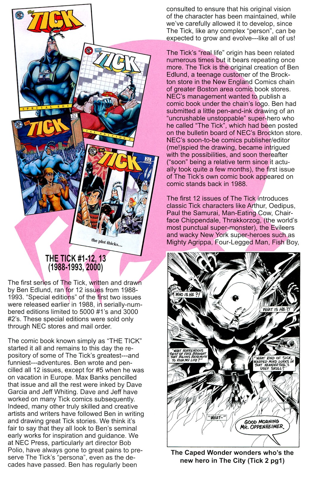 Read online The Tick comic -  Issue #100 - 30