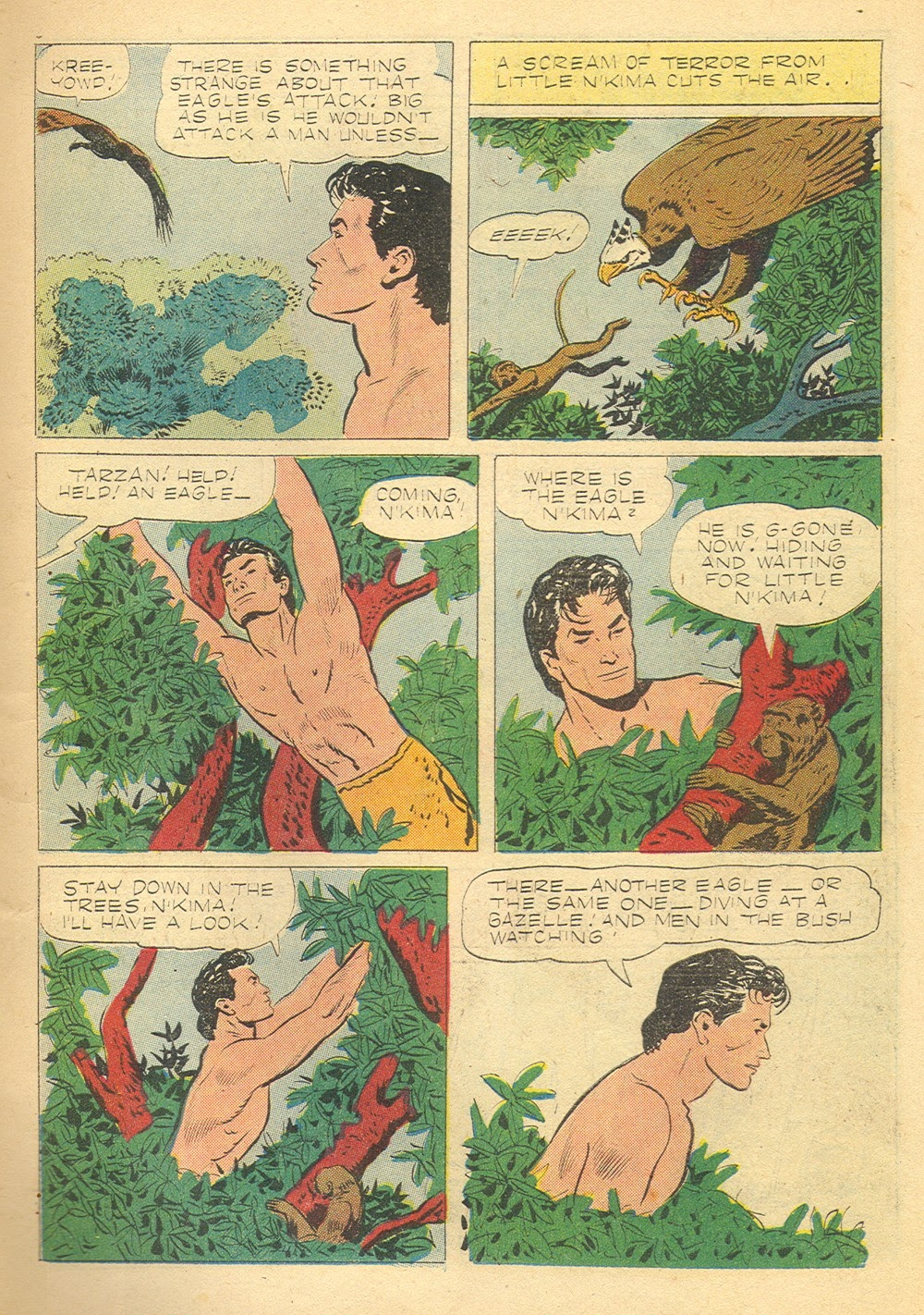 Tarzan (1948) issue 75 - Page 7