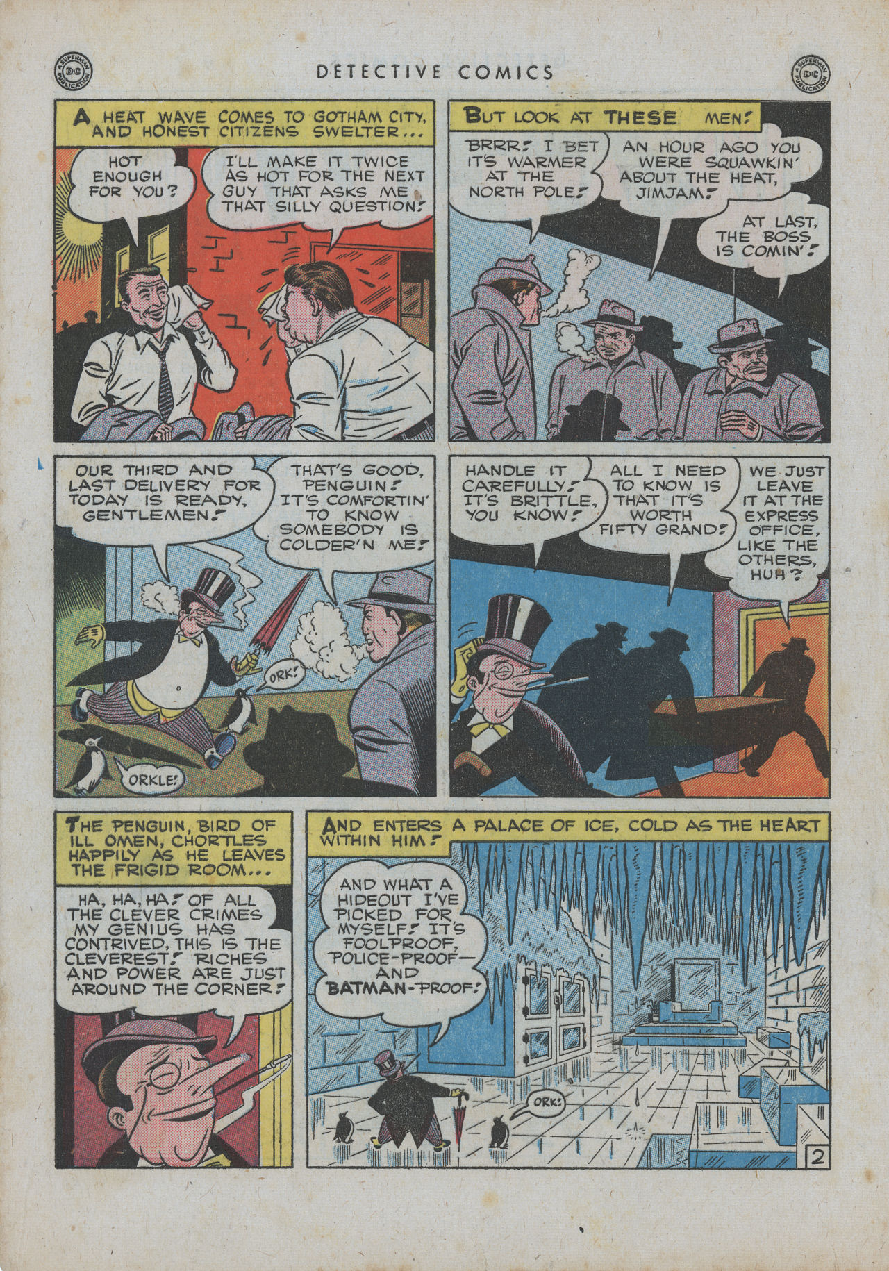 Read online Detective Comics (1937) comic -  Issue #99 - 5