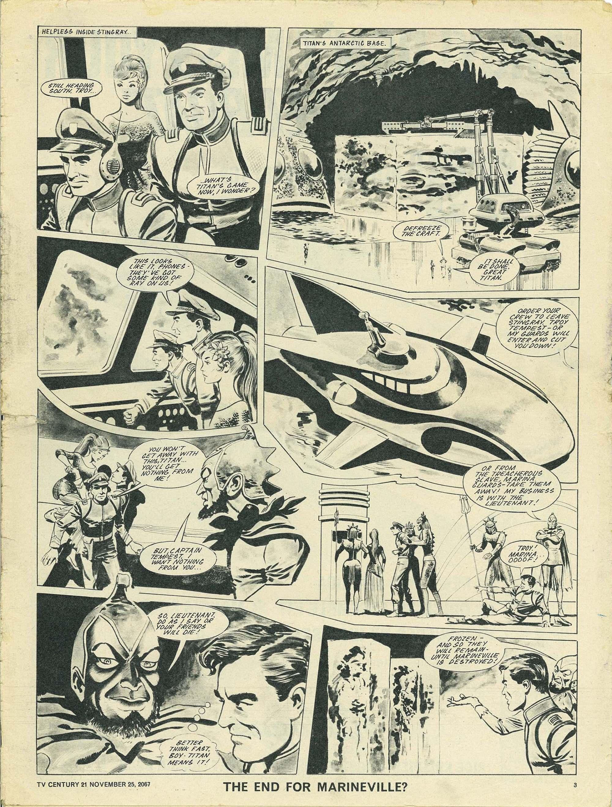 Read online TV Century 21 (TV 21) comic -  Issue #149 - 3