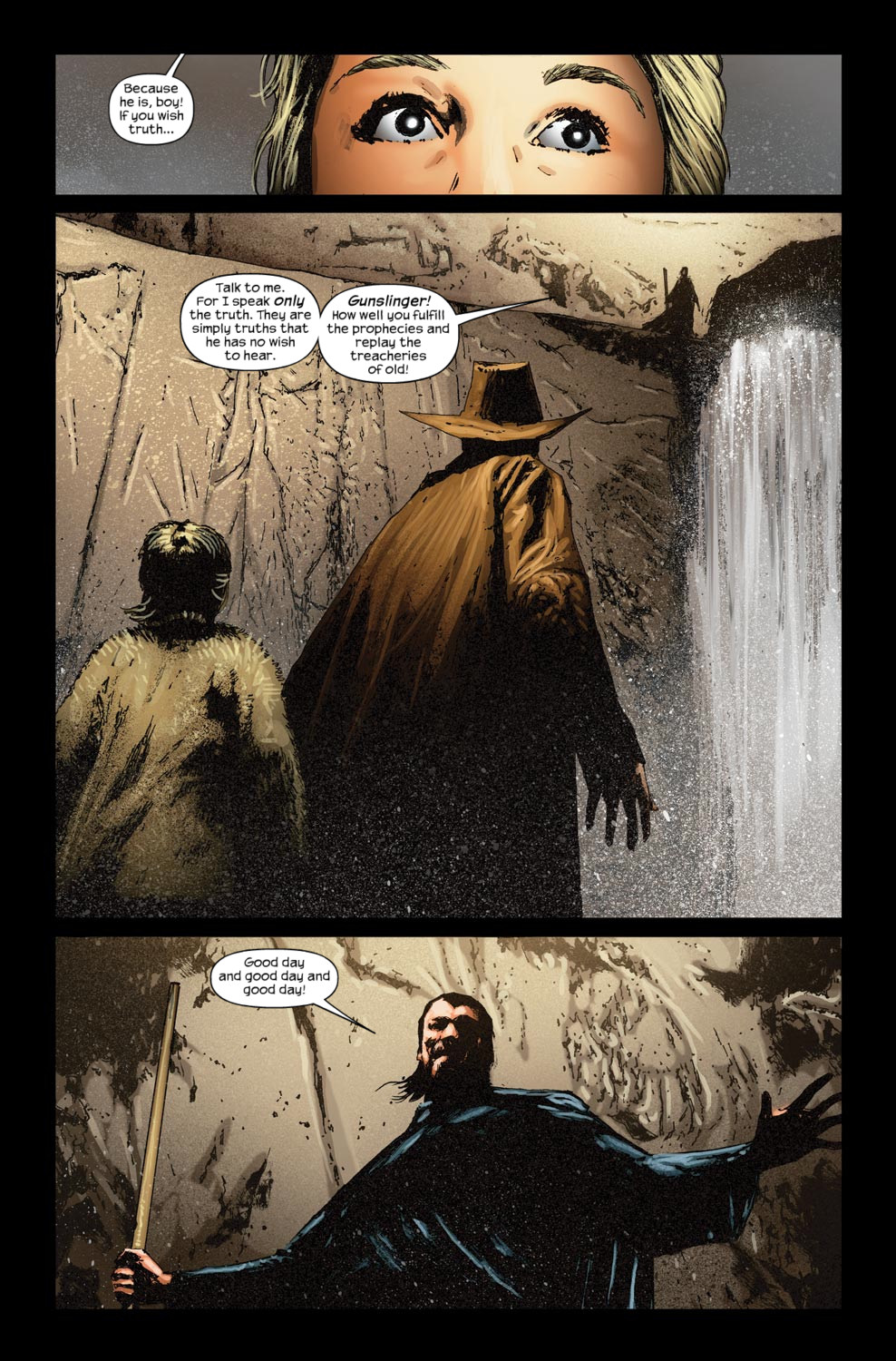 Read online Dark Tower: The Gunslinger - The Way Station comic -  Issue #5 - 21