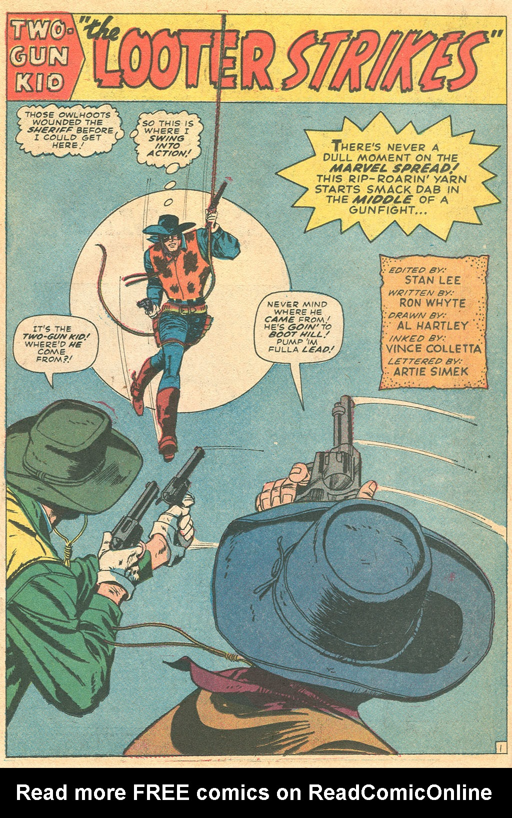 Read online Two-Gun Kid comic -  Issue #86 - 14