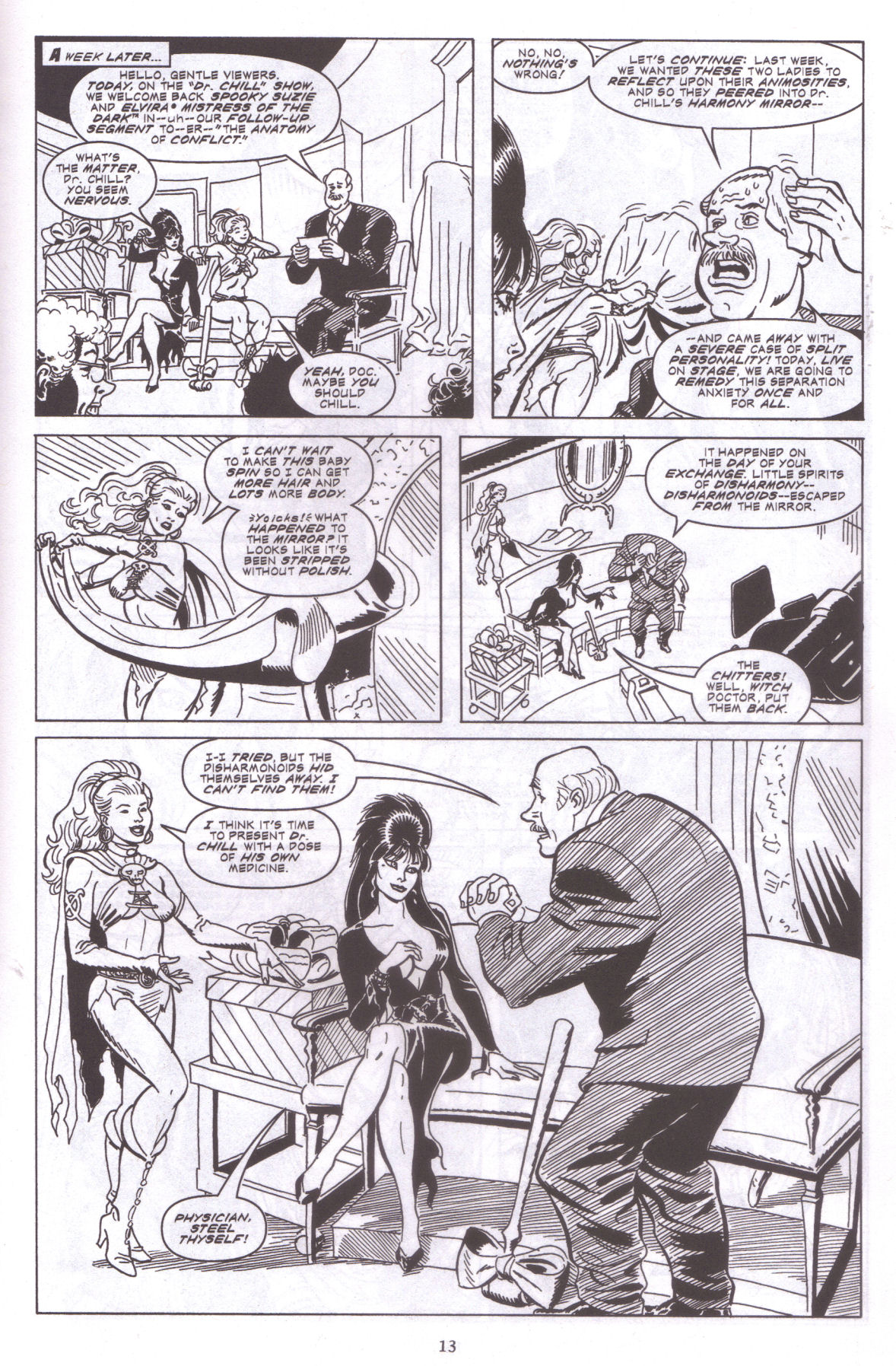Read online Elvira, Mistress of the Dark comic -  Issue #159 - 15