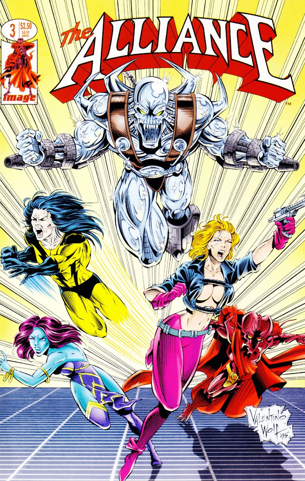 Read online The Alliance comic -  Issue #3 - 2