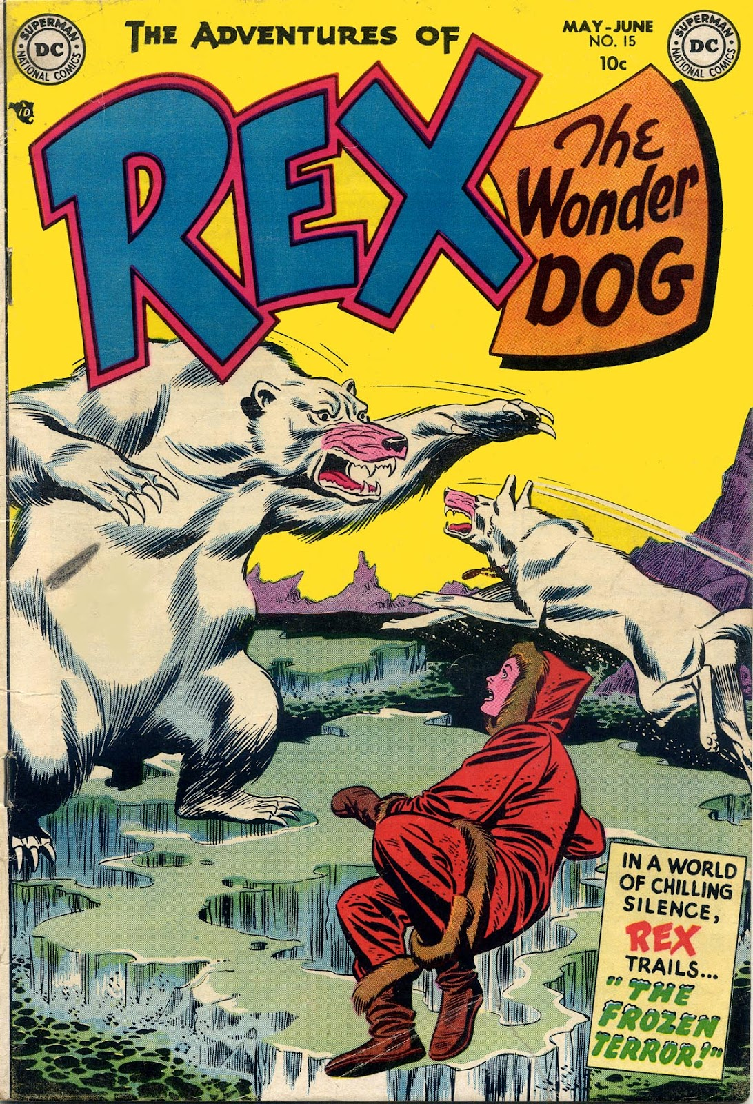 The Adventures of Rex the Wonder Dog issue 15 - Page 1