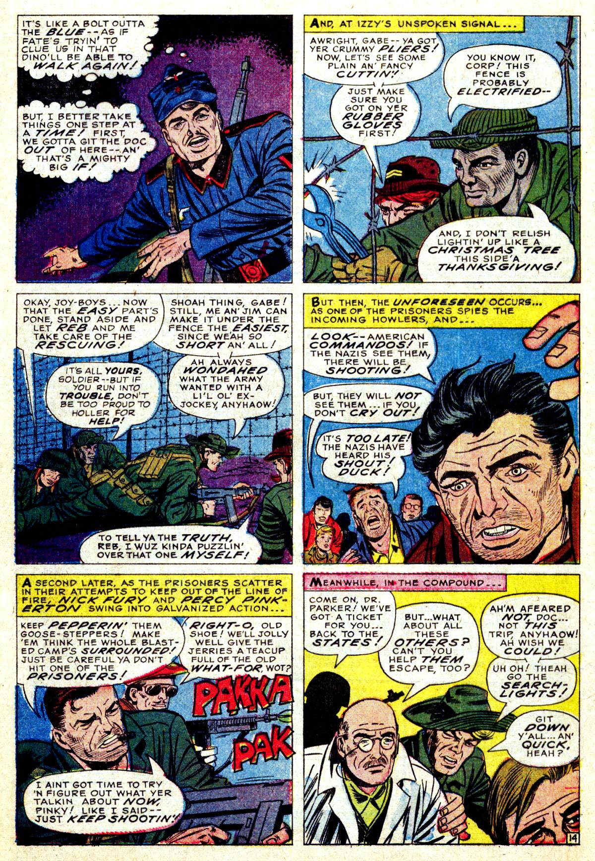 Read online Sgt. Fury comic -  Issue #38 - 20