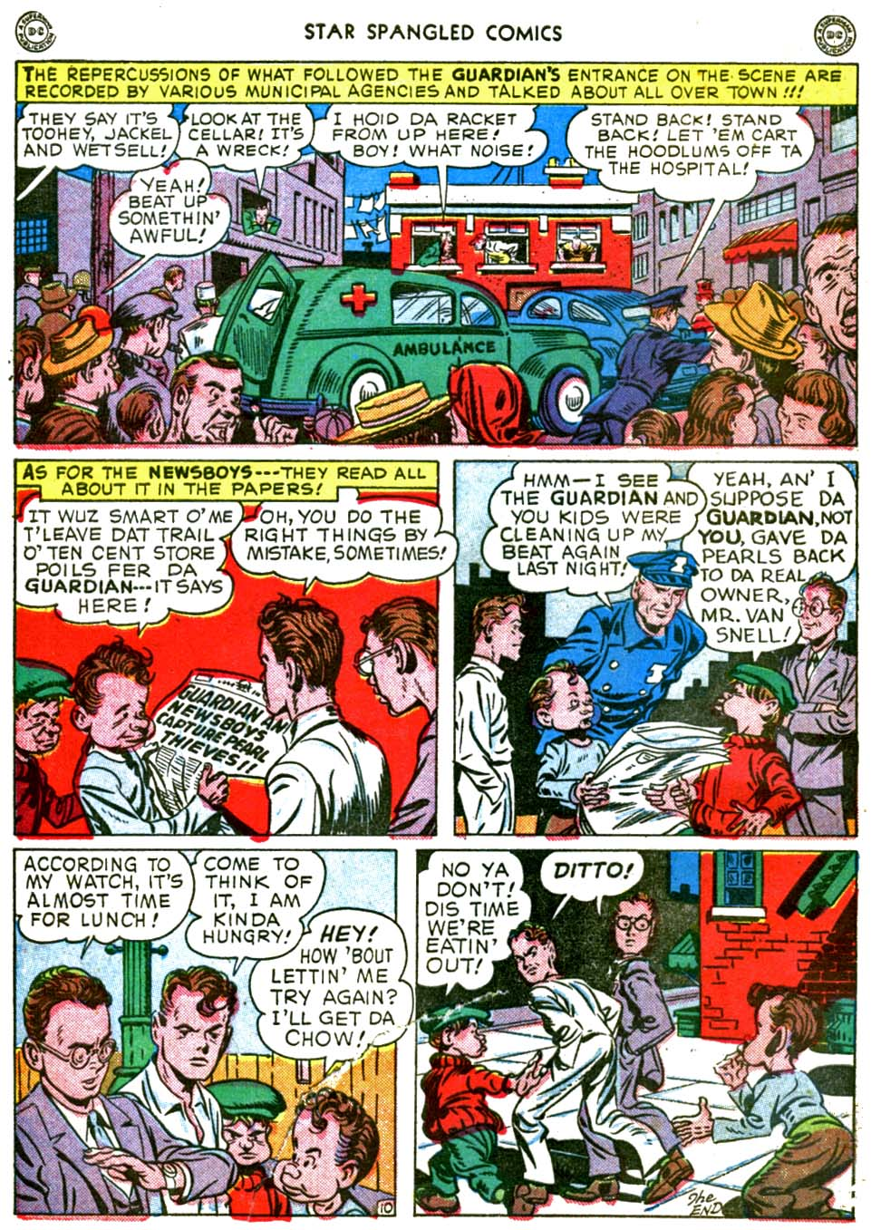 Star Spangled Comics (1941) issue 56 - Page 12