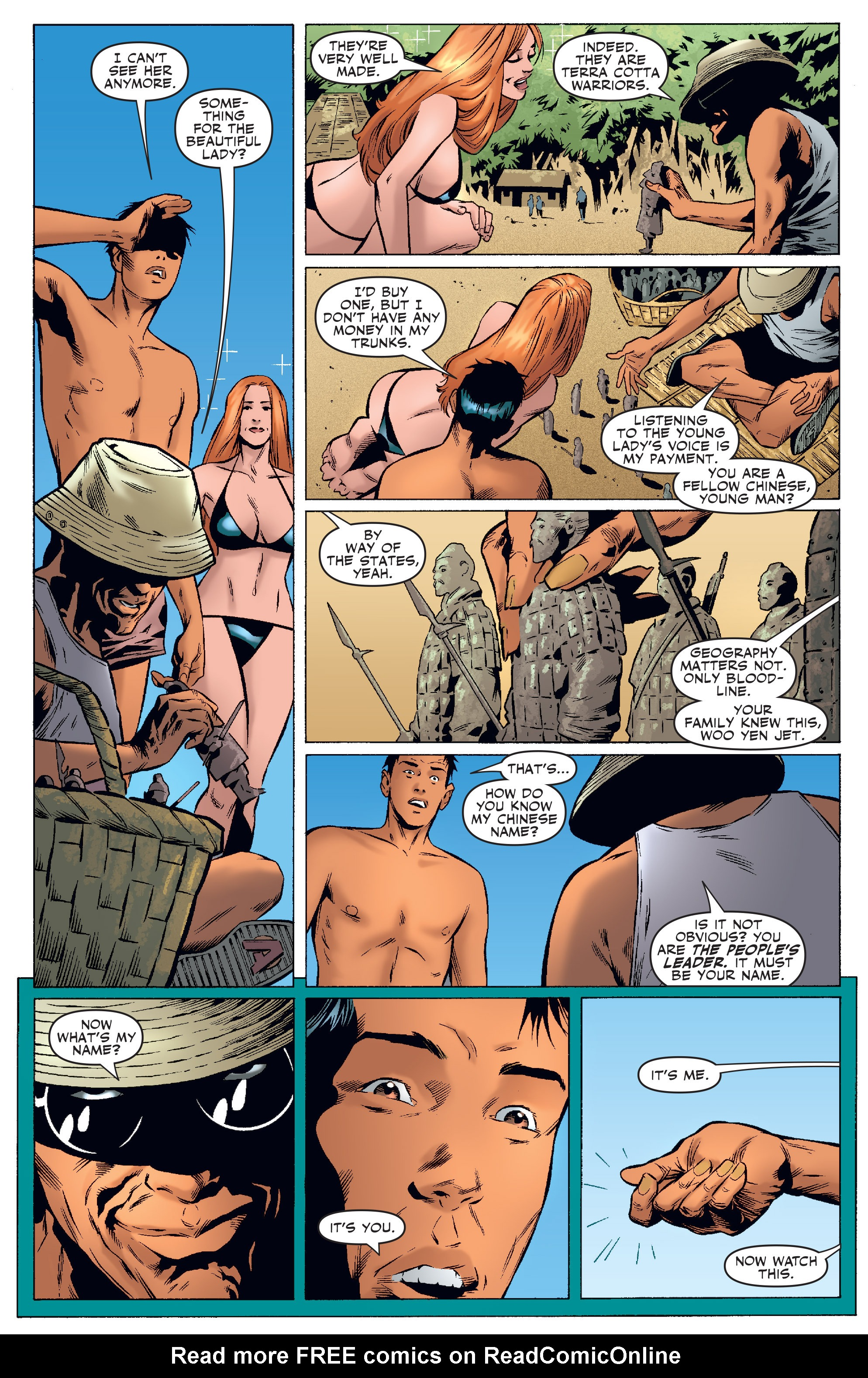 Read online Agents Of Atlas (2006) comic -  Issue #4 - 21