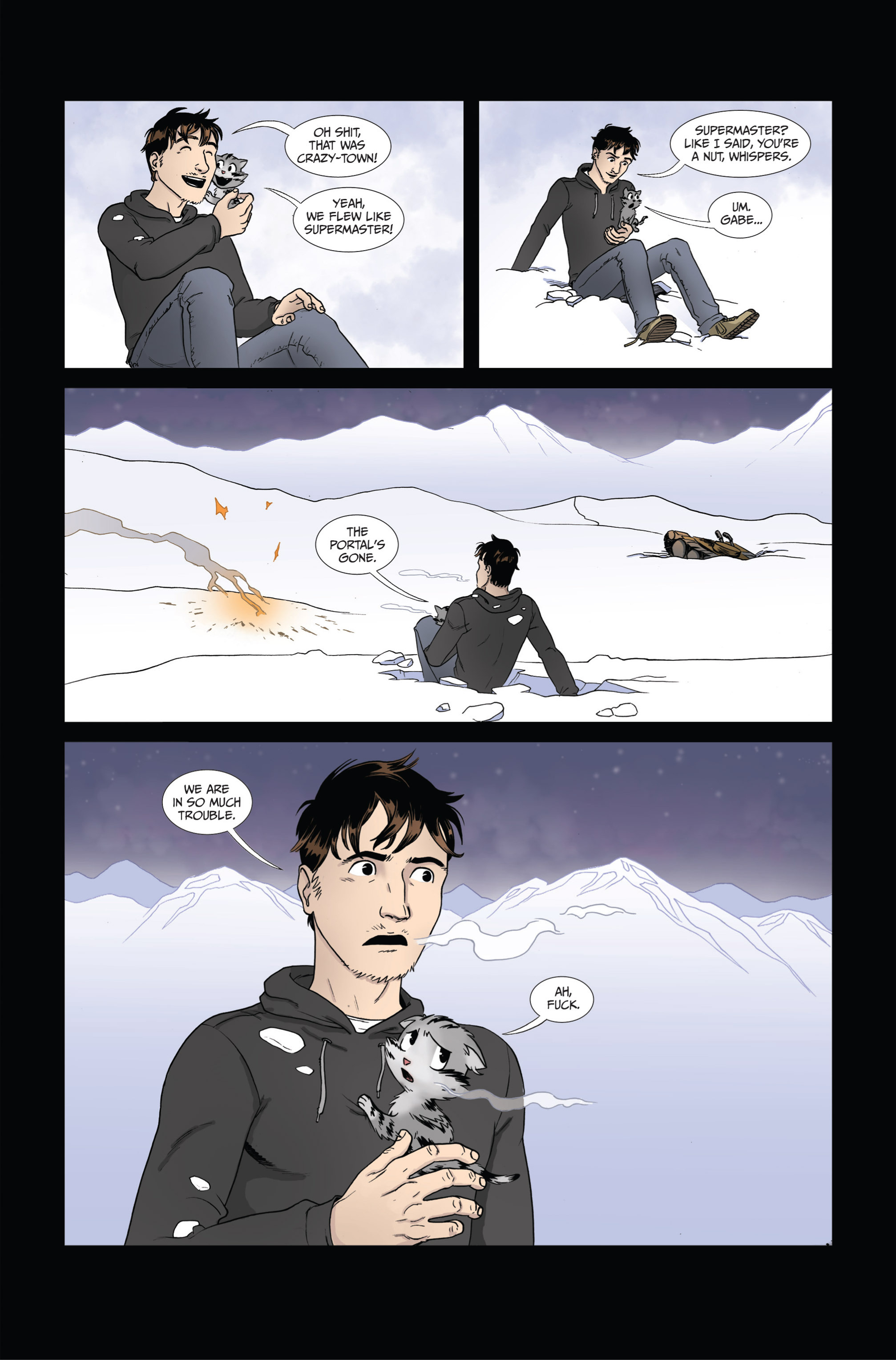 Read online Ehmm Theory: Everything & Small Doses comic -  Issue #4 - 26