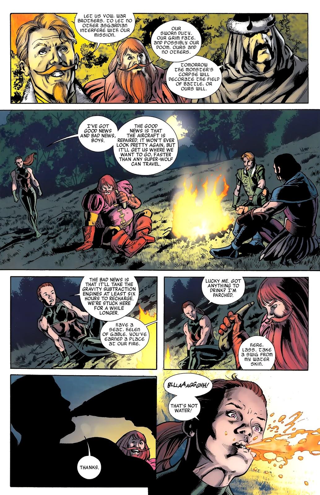 Warriors Three Issue #3 #3 - English 19