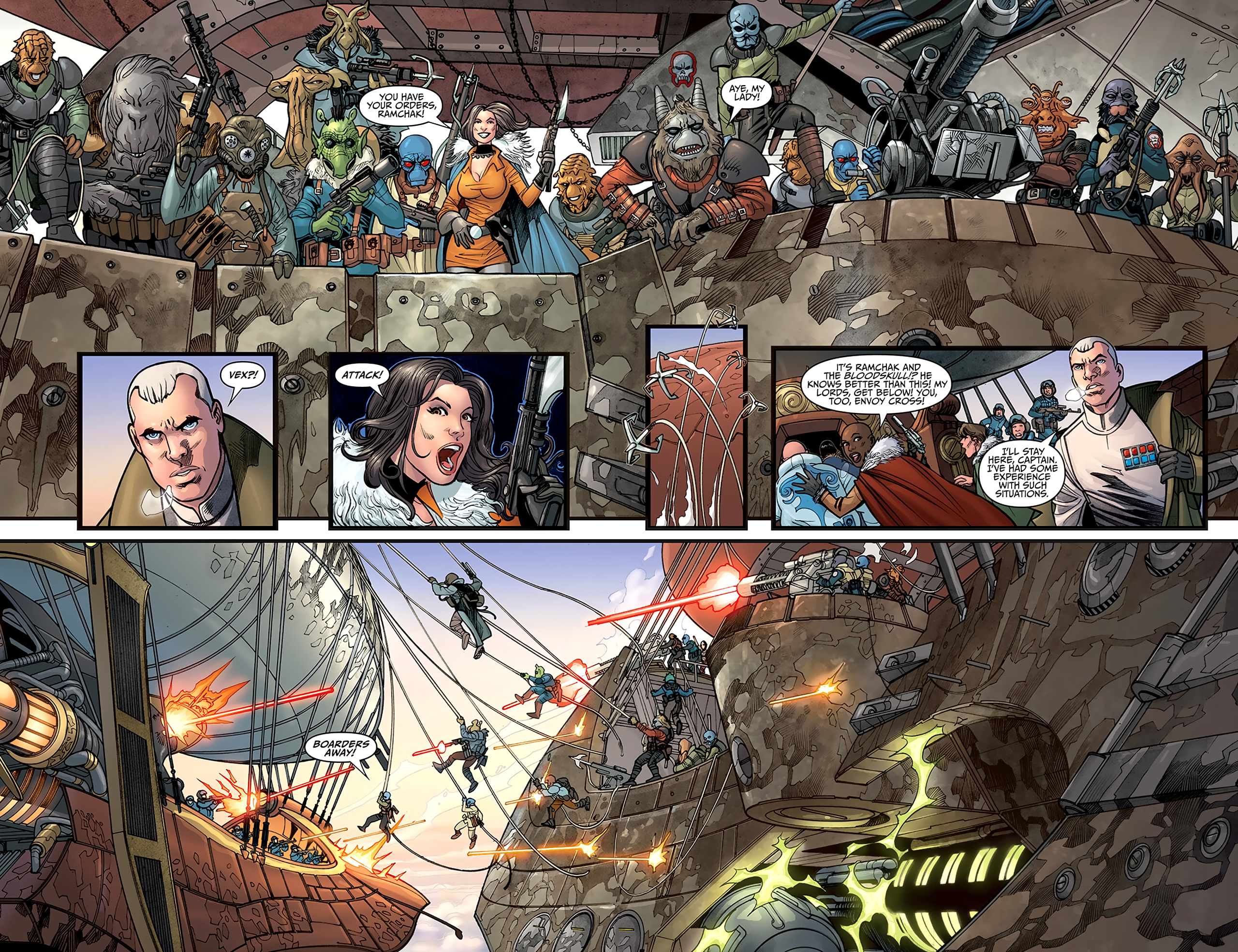 Read online Star Wars: Agent Of The Empire - Hard Targets comic -  Issue #2 - 18