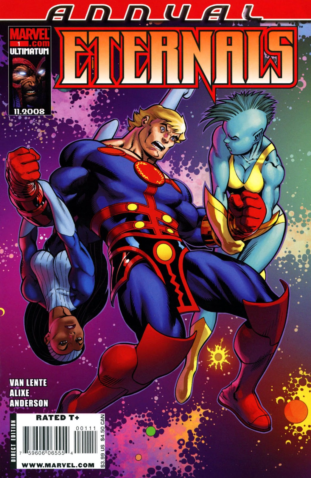 Eternals (2008) issue Annual 1 - Page 1