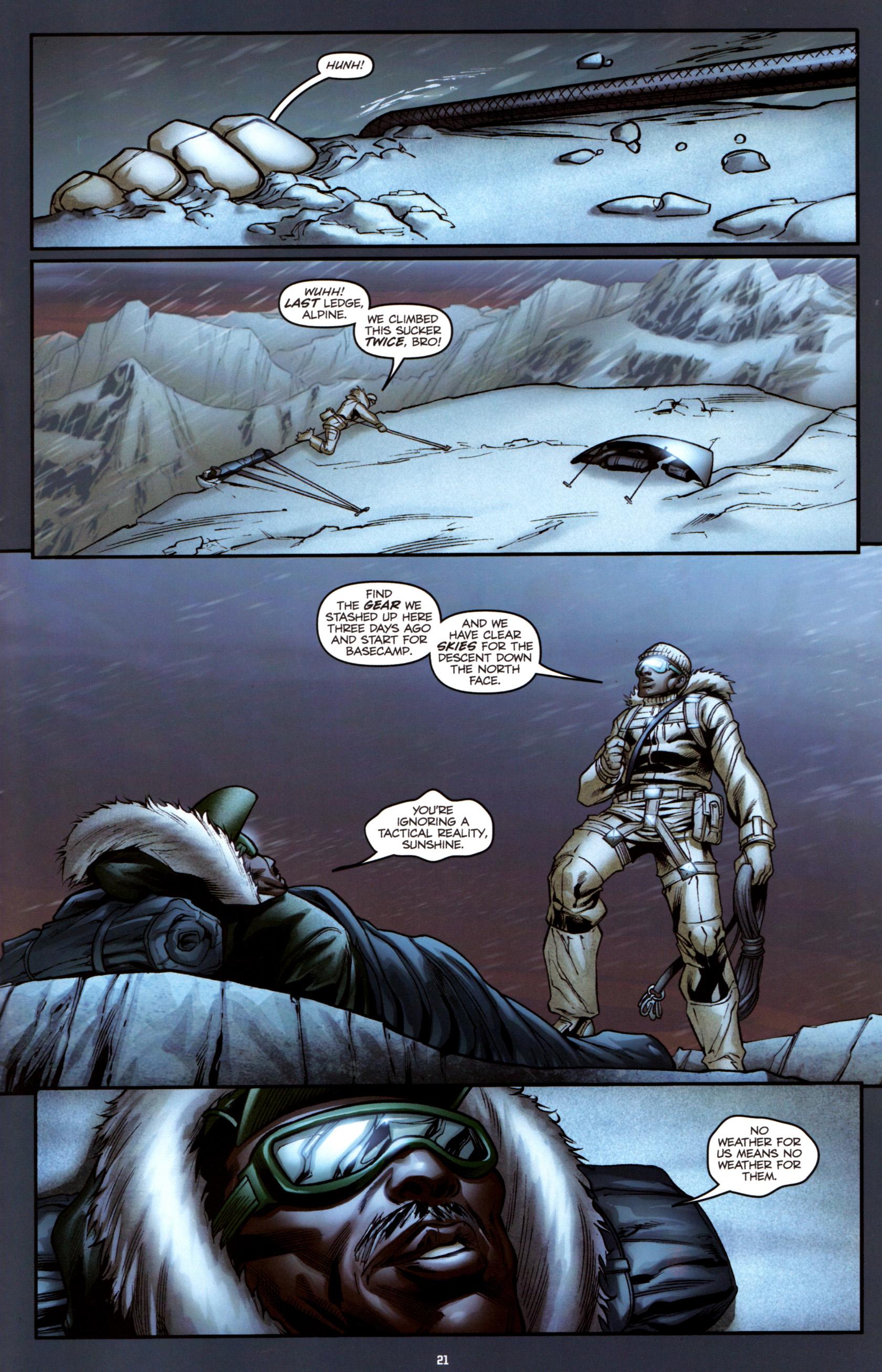 Read online G.I. Joe: Snake Eyes comic -  Issue #3 - 24