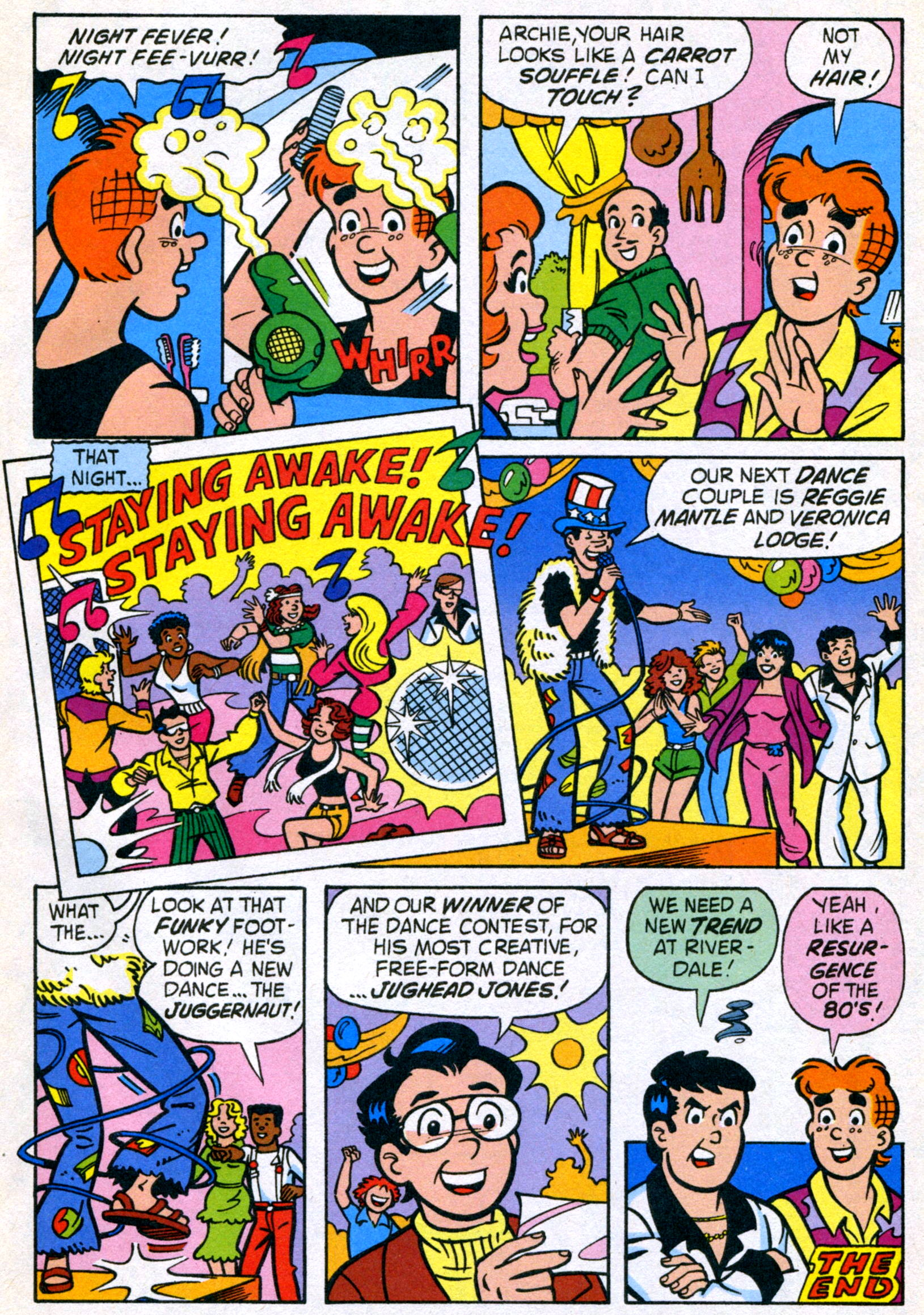 Read online World of Archie comic -  Issue #21 - 33