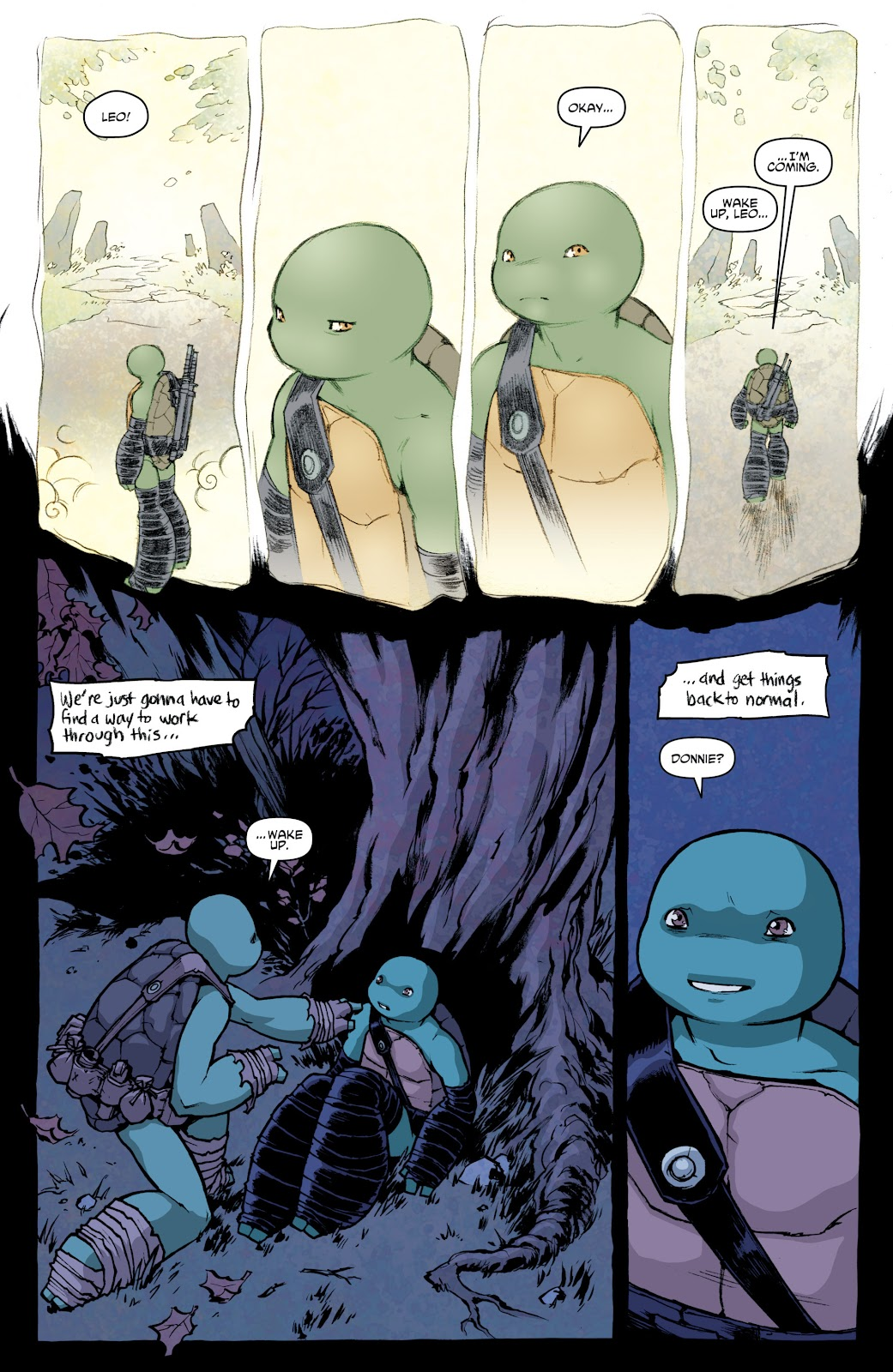 Read online Teenage Mutant Ninja Turtles: The IDW Collection comic -  Issue # TPB 4 (Part 1) - 64