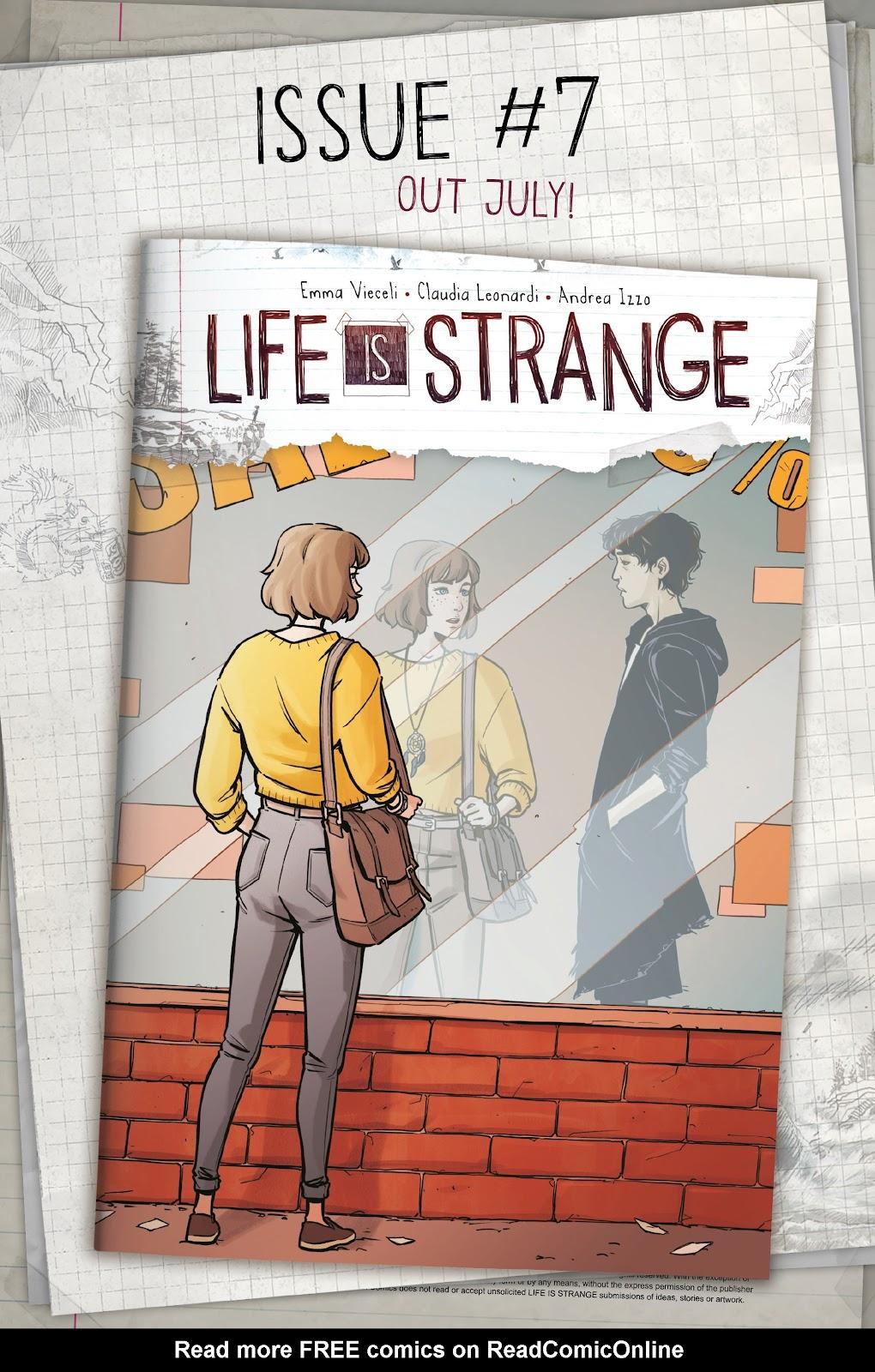 Read online Life is Strange comic -  Issue #6 - 30