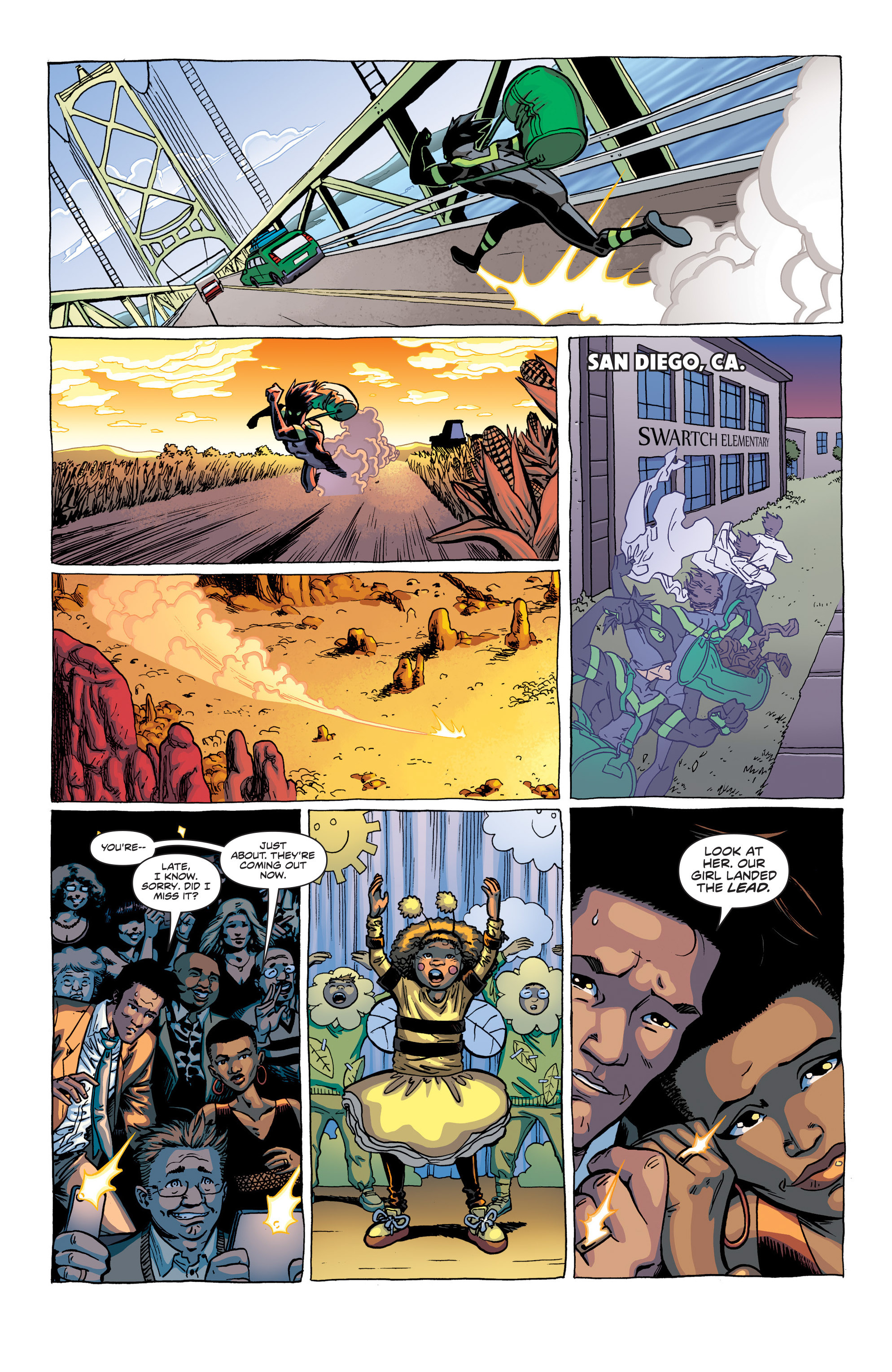Read online Secret Identities comic -  Issue # _TPB - 17