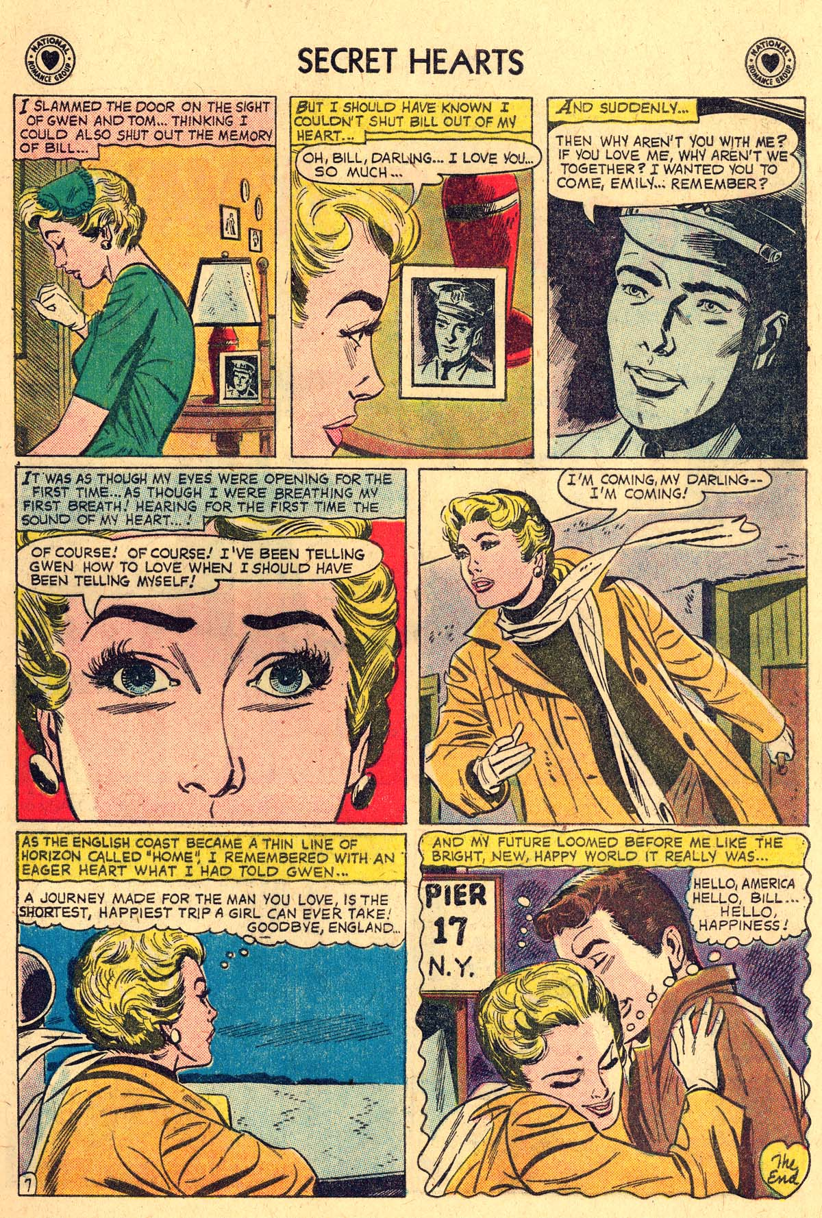 Read online Secret Hearts comic -  Issue #57 - 9