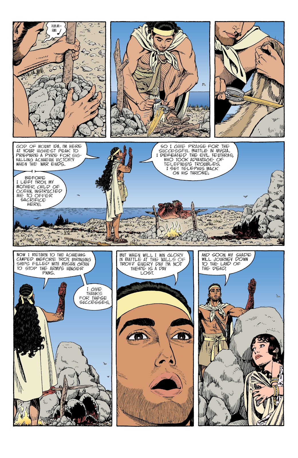 Read online Age of Bronze comic -  Issue #34 - 15