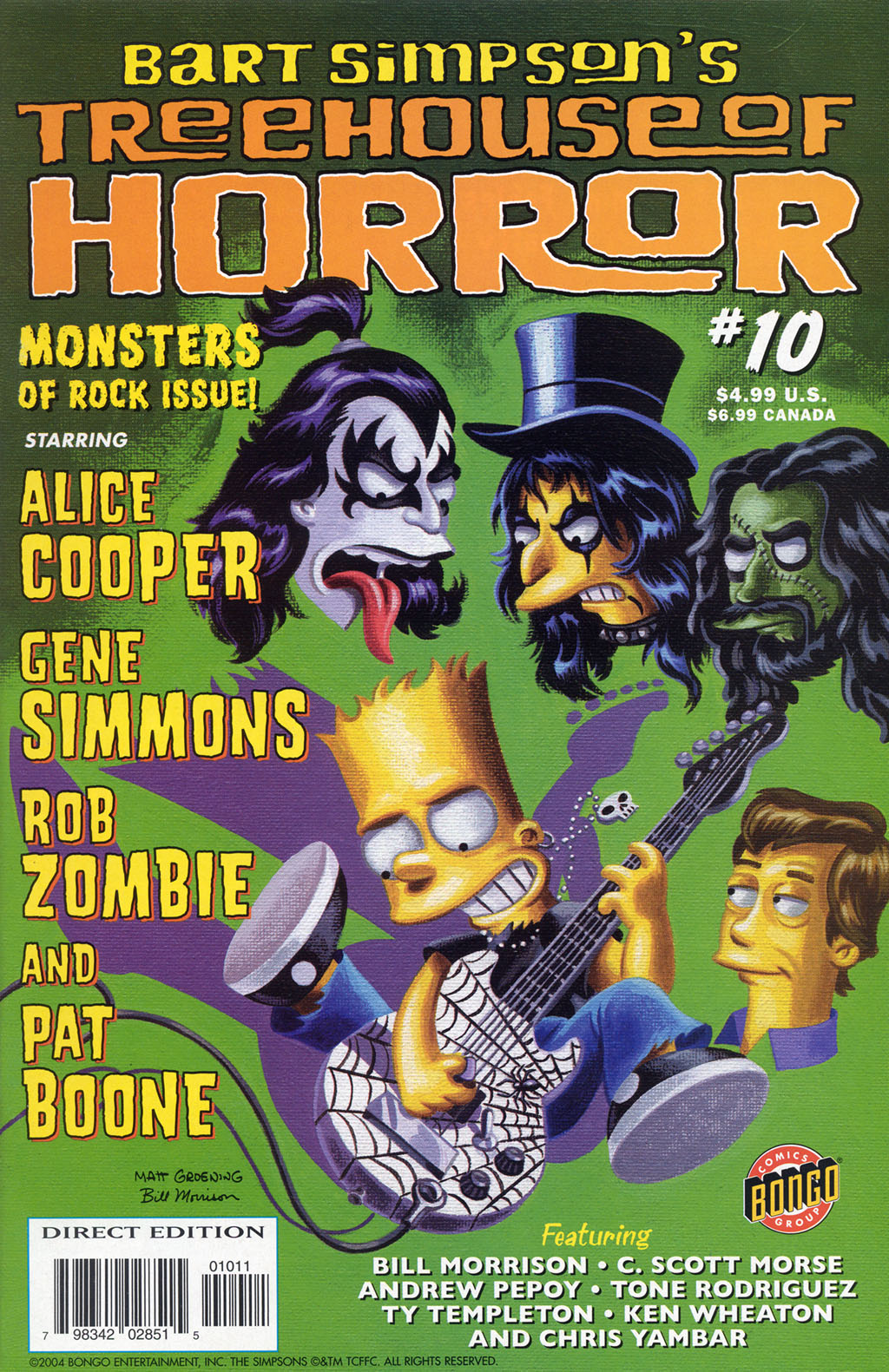 Read online Treehouse of Horror comic -  Issue #10 - 2
