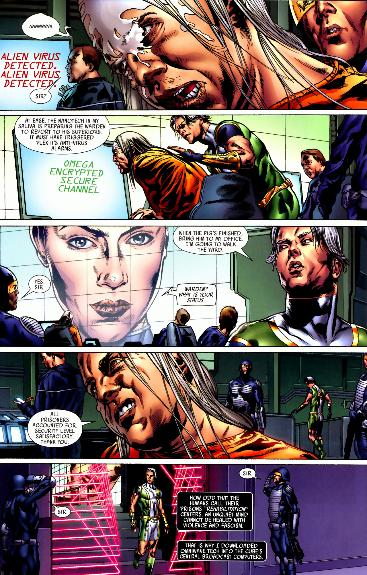 Read online Secret Invasion: Who Do You Trust? comic -  Issue # Full - 31