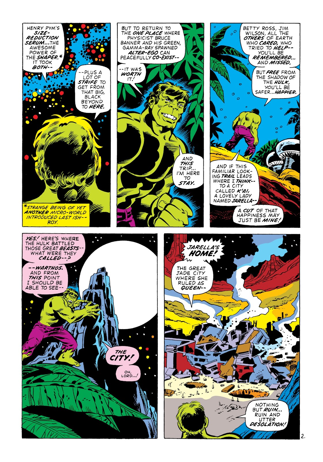 Read online Marvel Masterworks: The Incredible Hulk comic -  Issue # TPB 8 (Part 3) - 63