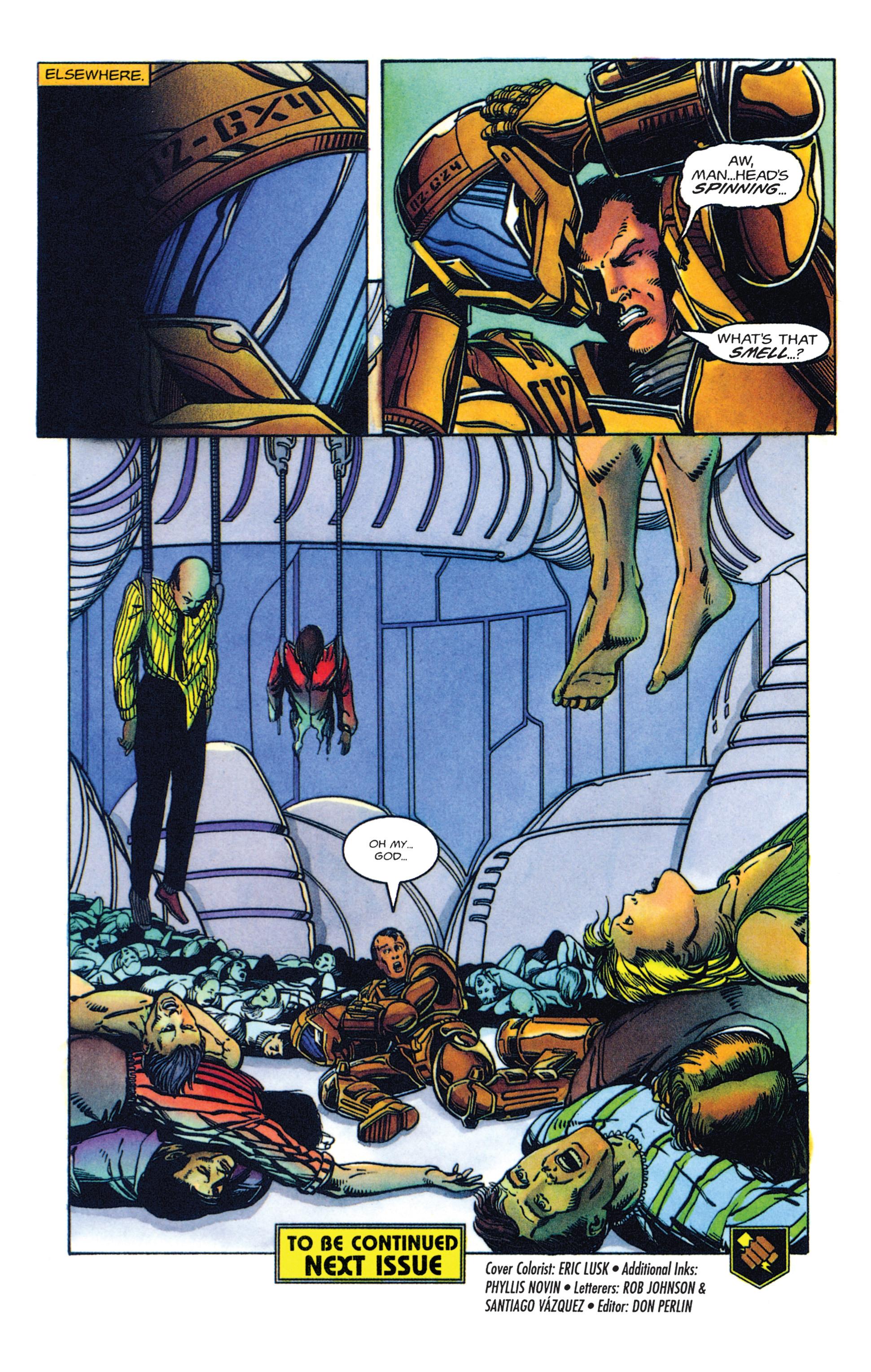 Read online Armorines comic -  Issue #2 - 21