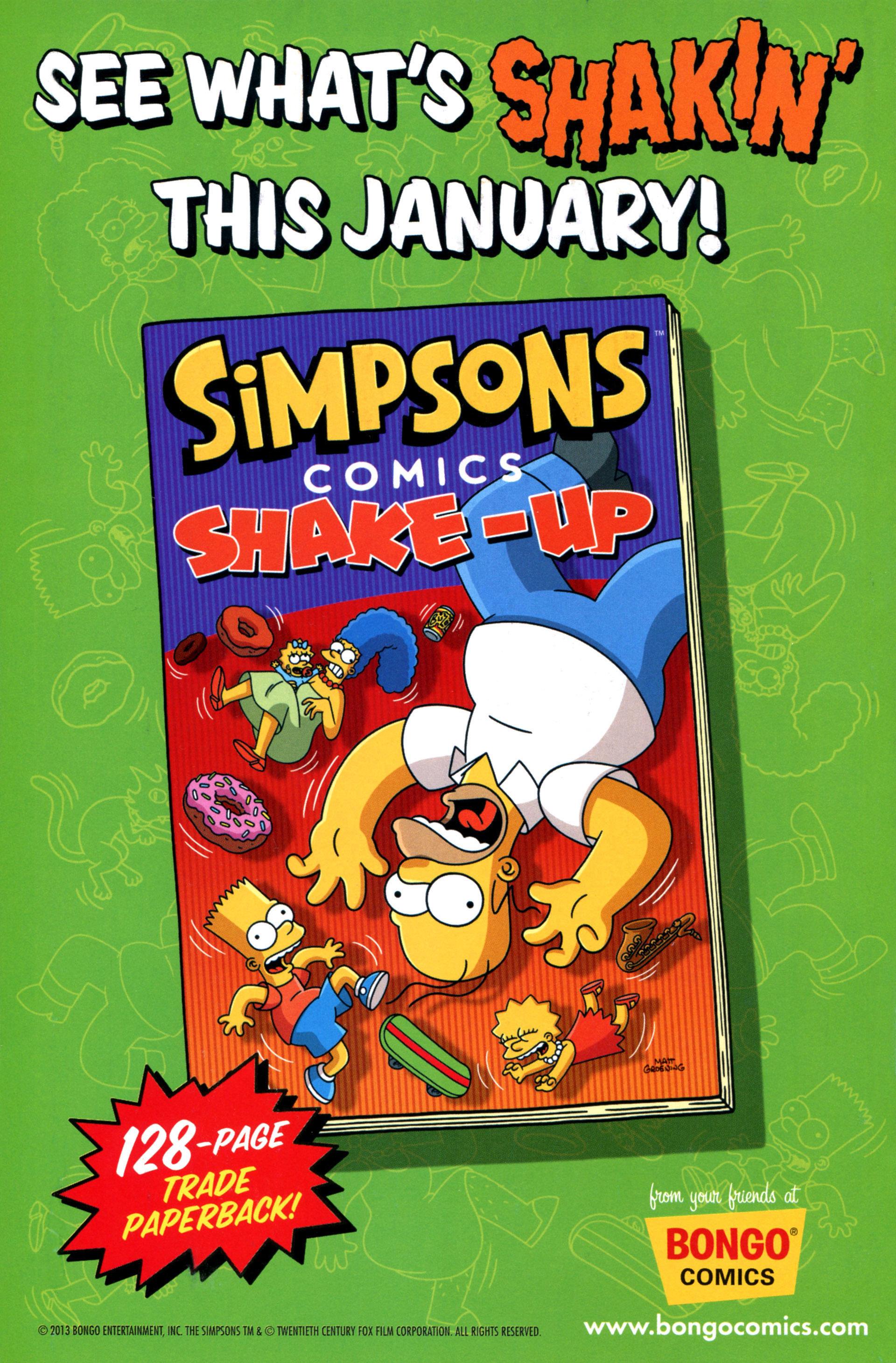 Read online Simpsons Comics comic -  Issue #208 - 31