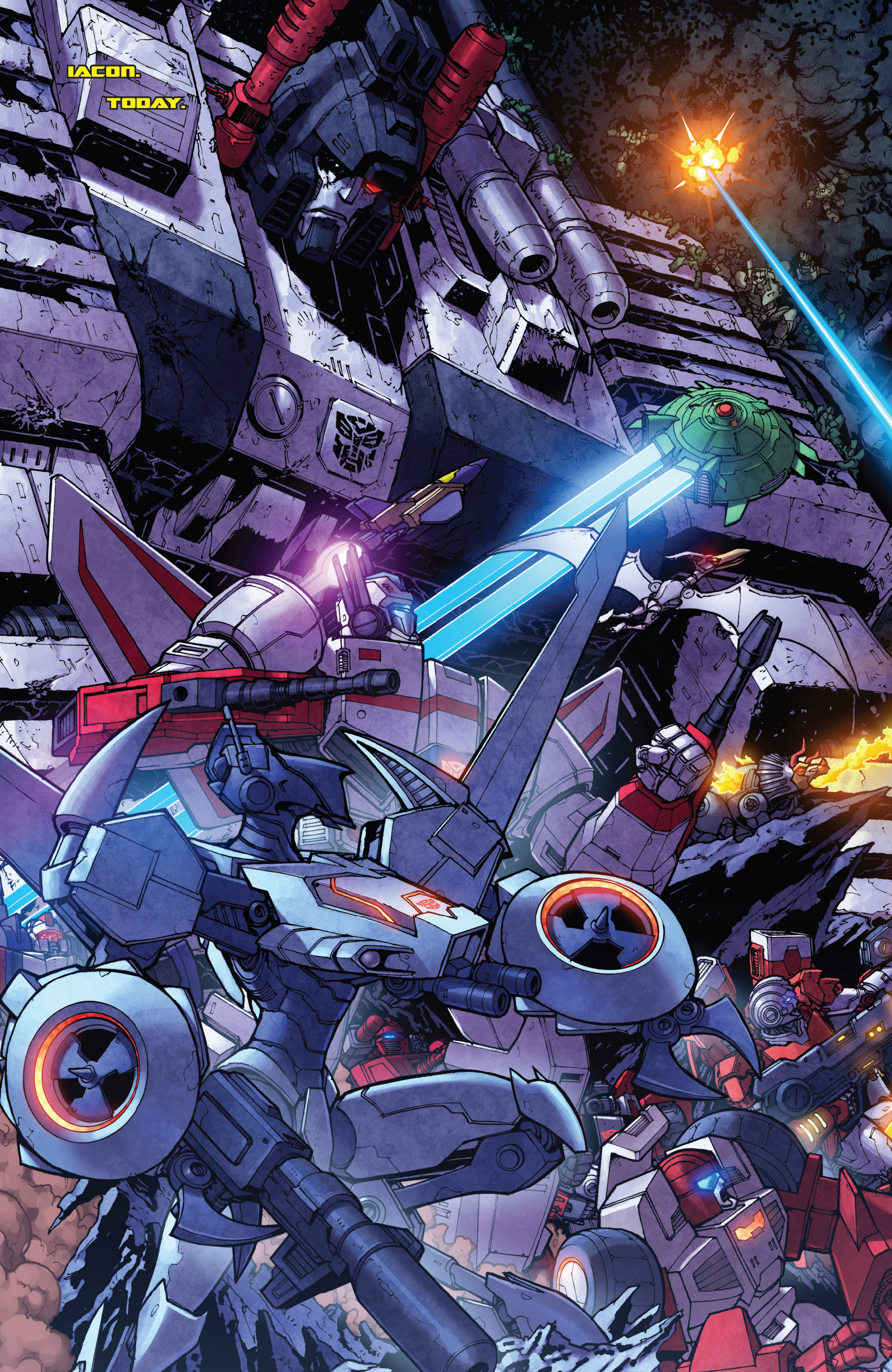 Read online The Transformers: Dark Cybertron Finale comic -  Issue # Full - 103