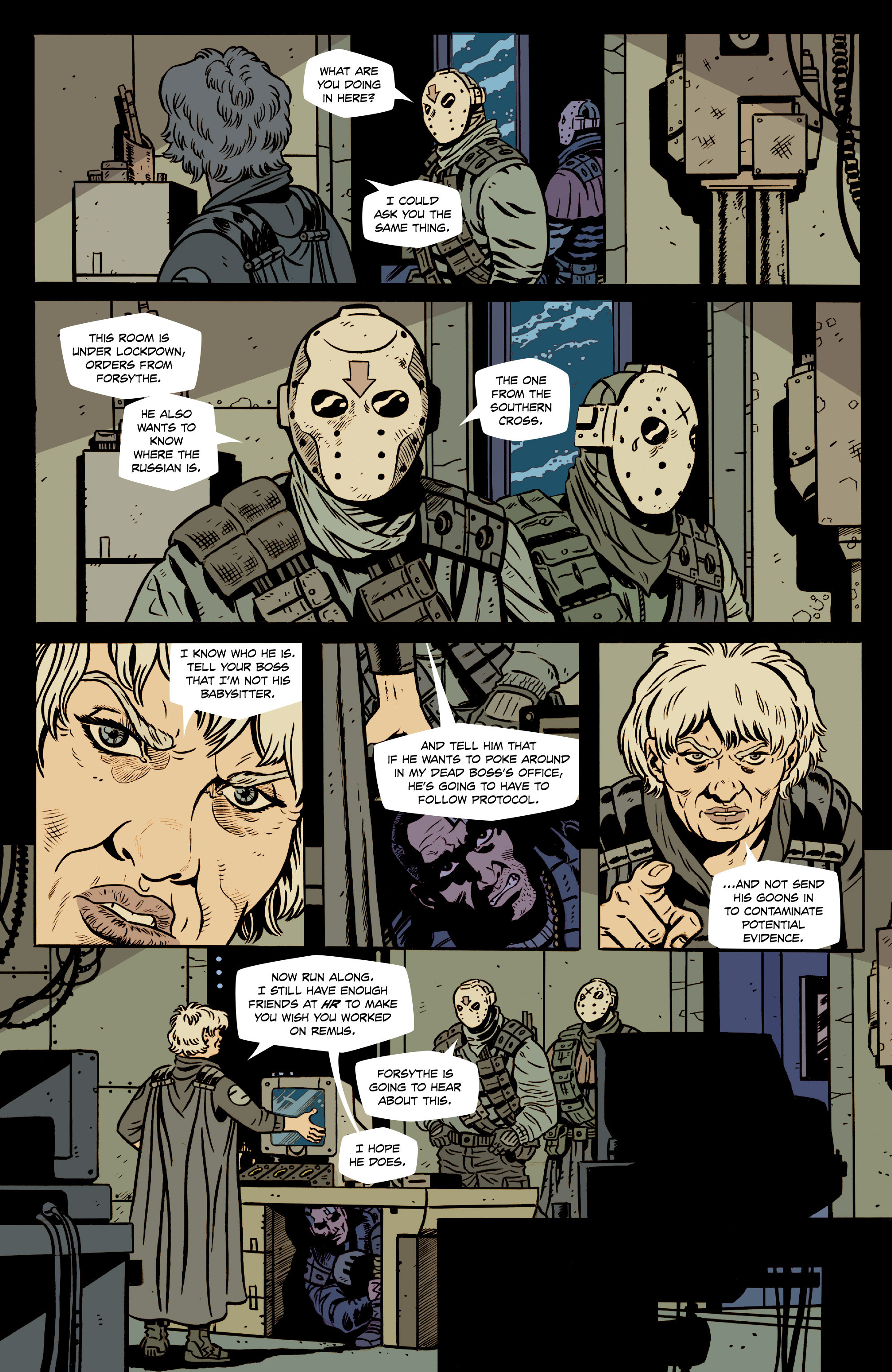 Read online Southern Cross comic -  Issue #8 - 11