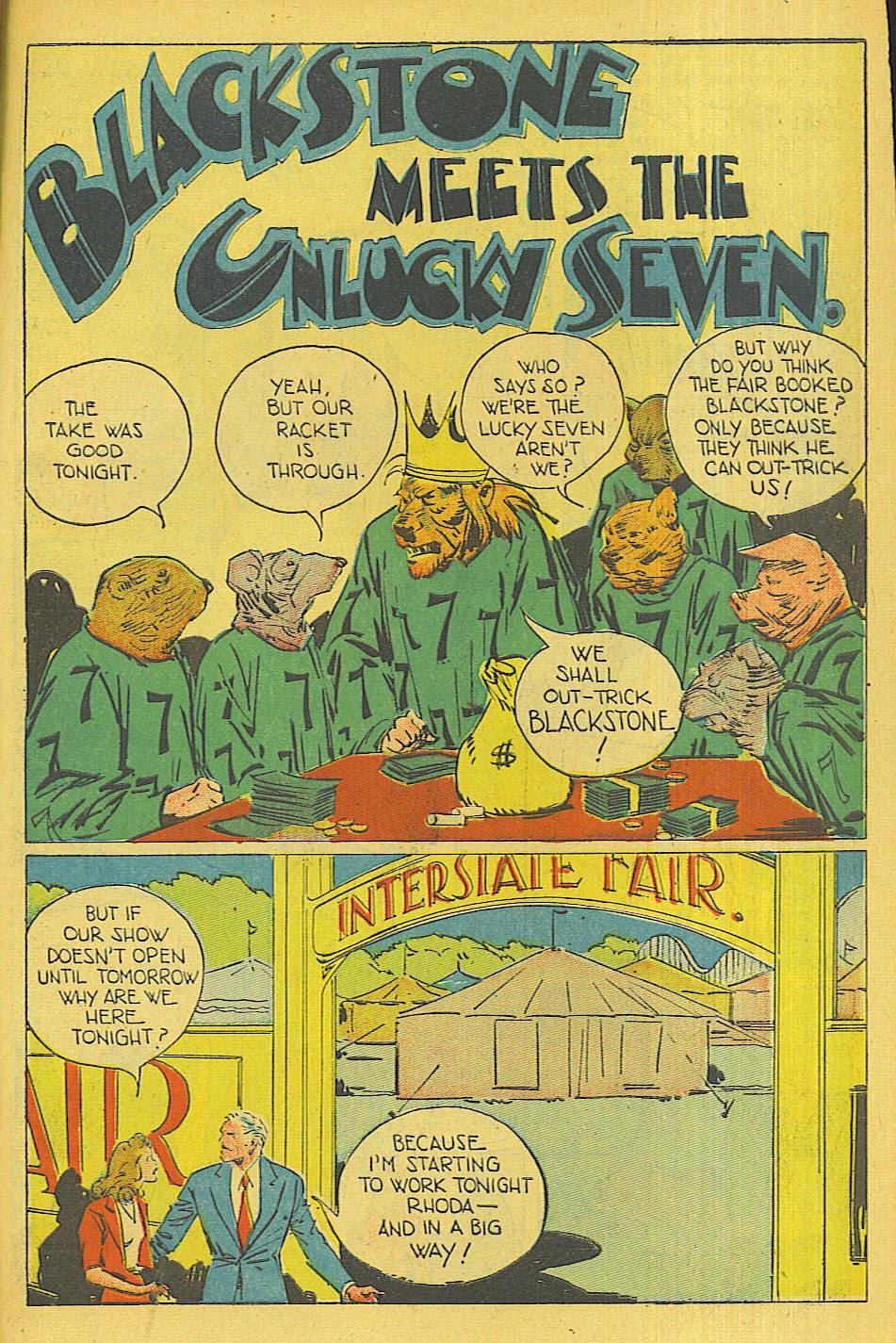Read online Super-Magician Comics comic -  Issue #42 - 42