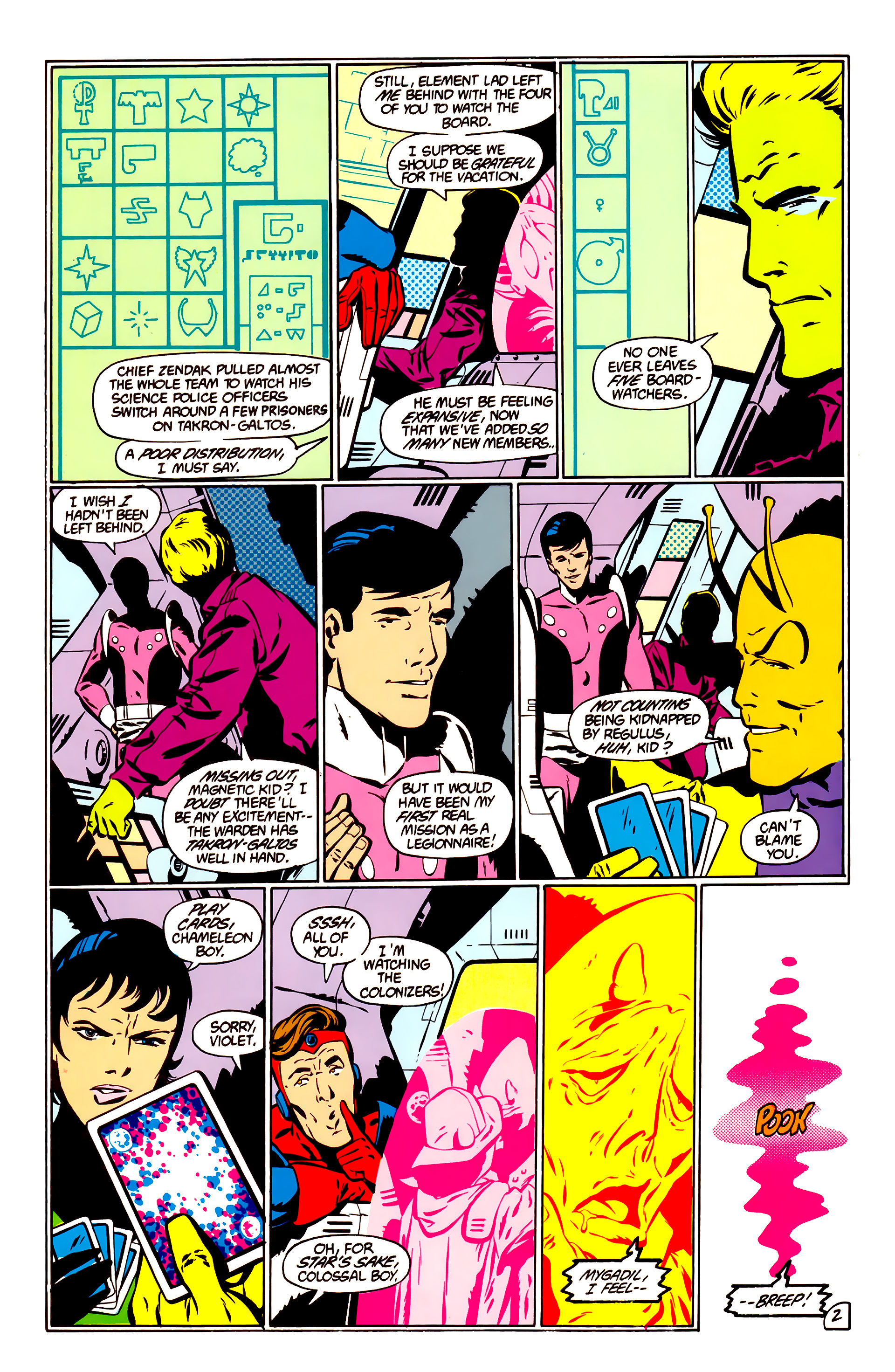 Legion of Super-Heroes (1984) _Annual_1 Page 3