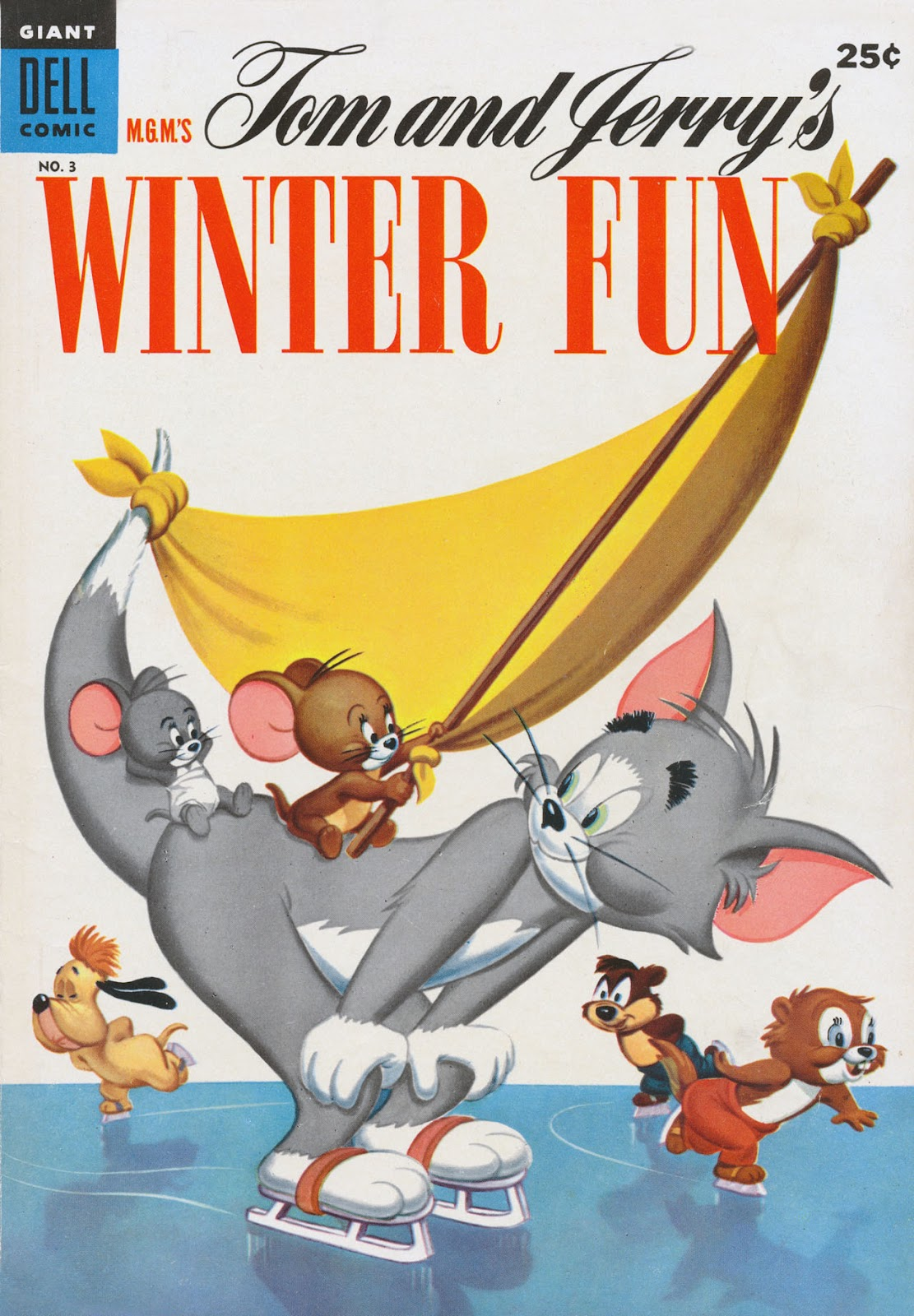 M.G.M.'s Tom and Jerry's Winter Fun issue 3 - Page 1
