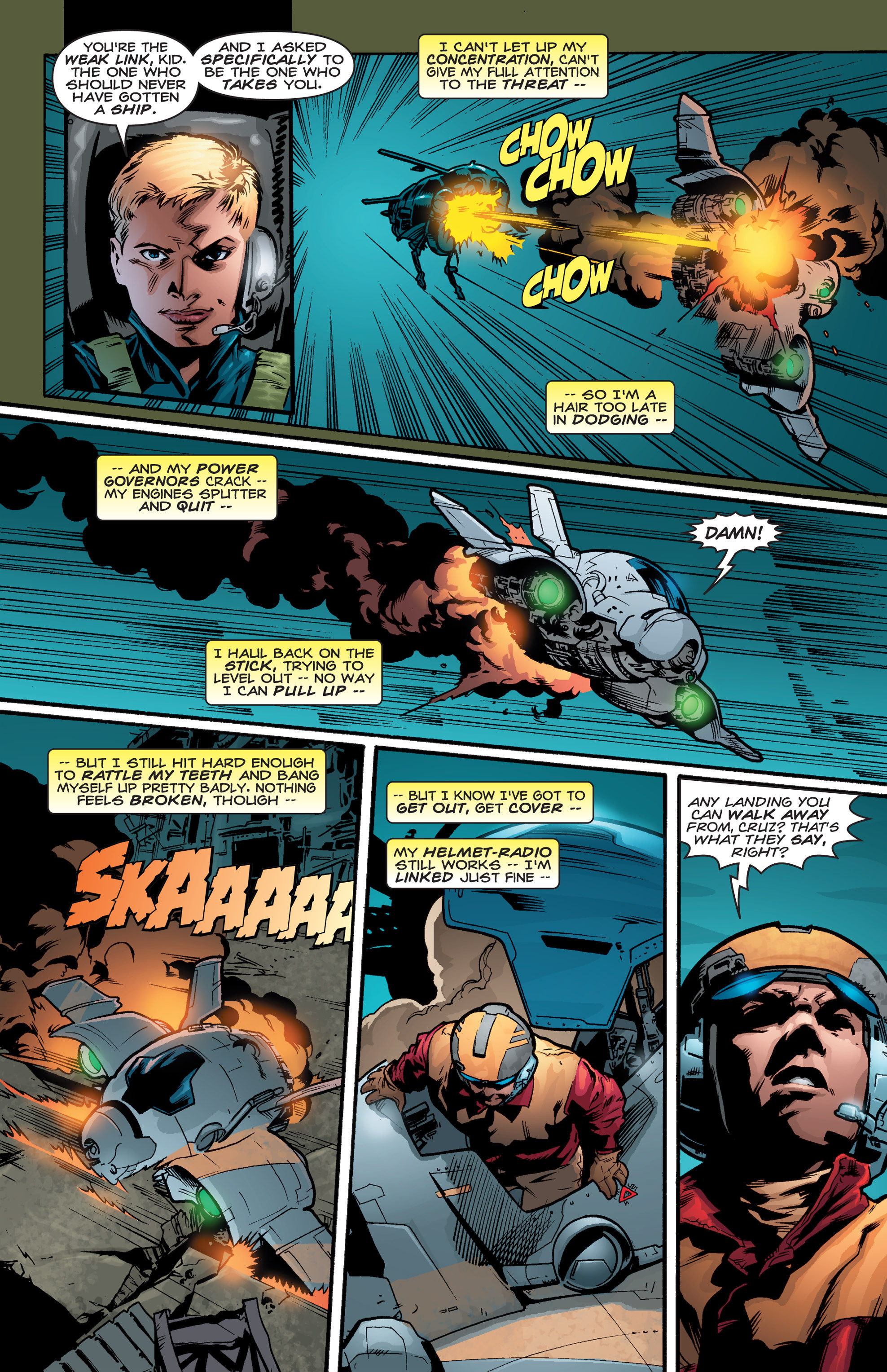 Read online Shockrockets comic -  Issue # TPB - 138