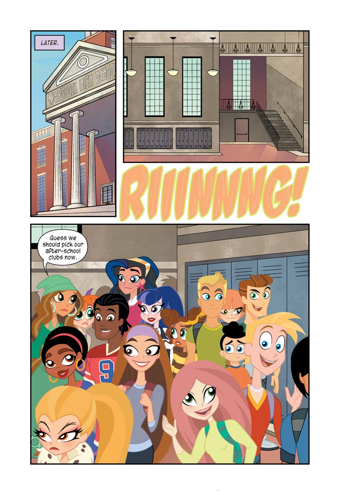 Read online DC Super Hero Girls: At Metropolis High (Halloween ComicFest Special Edition) comic -  Issue # Full - 8