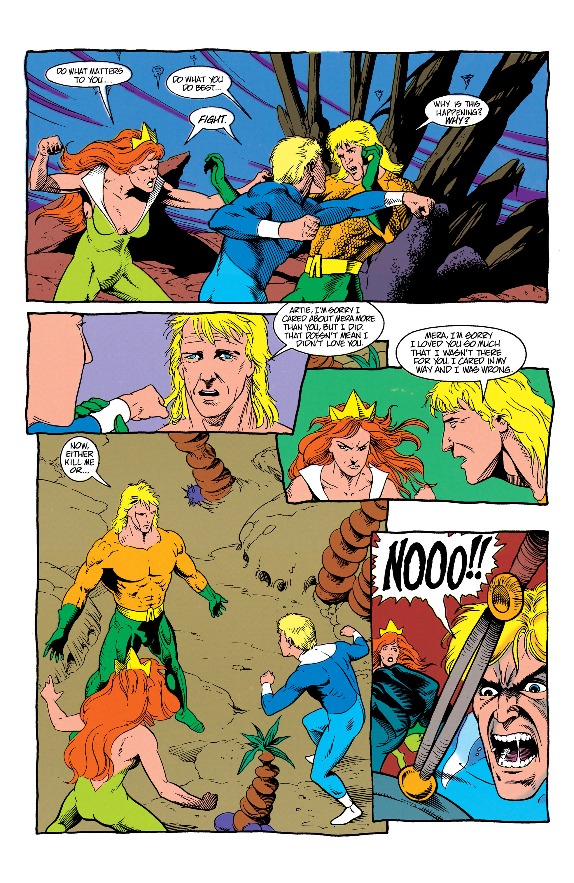 Read online Aquaman (1991) comic -  Issue #7 - 20