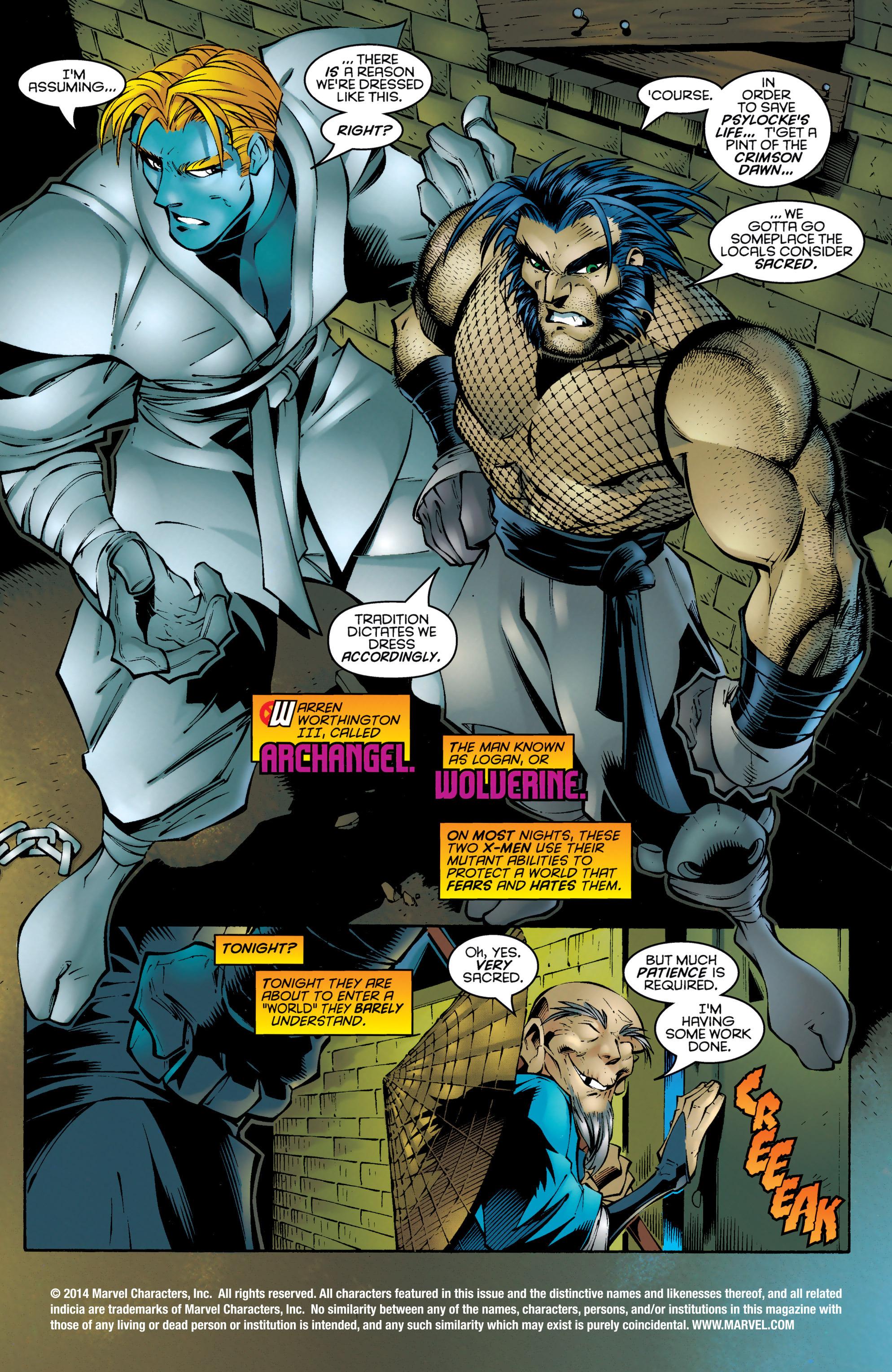 Read online Uncanny X-Men (1963) comic -  Issue #330 - 2