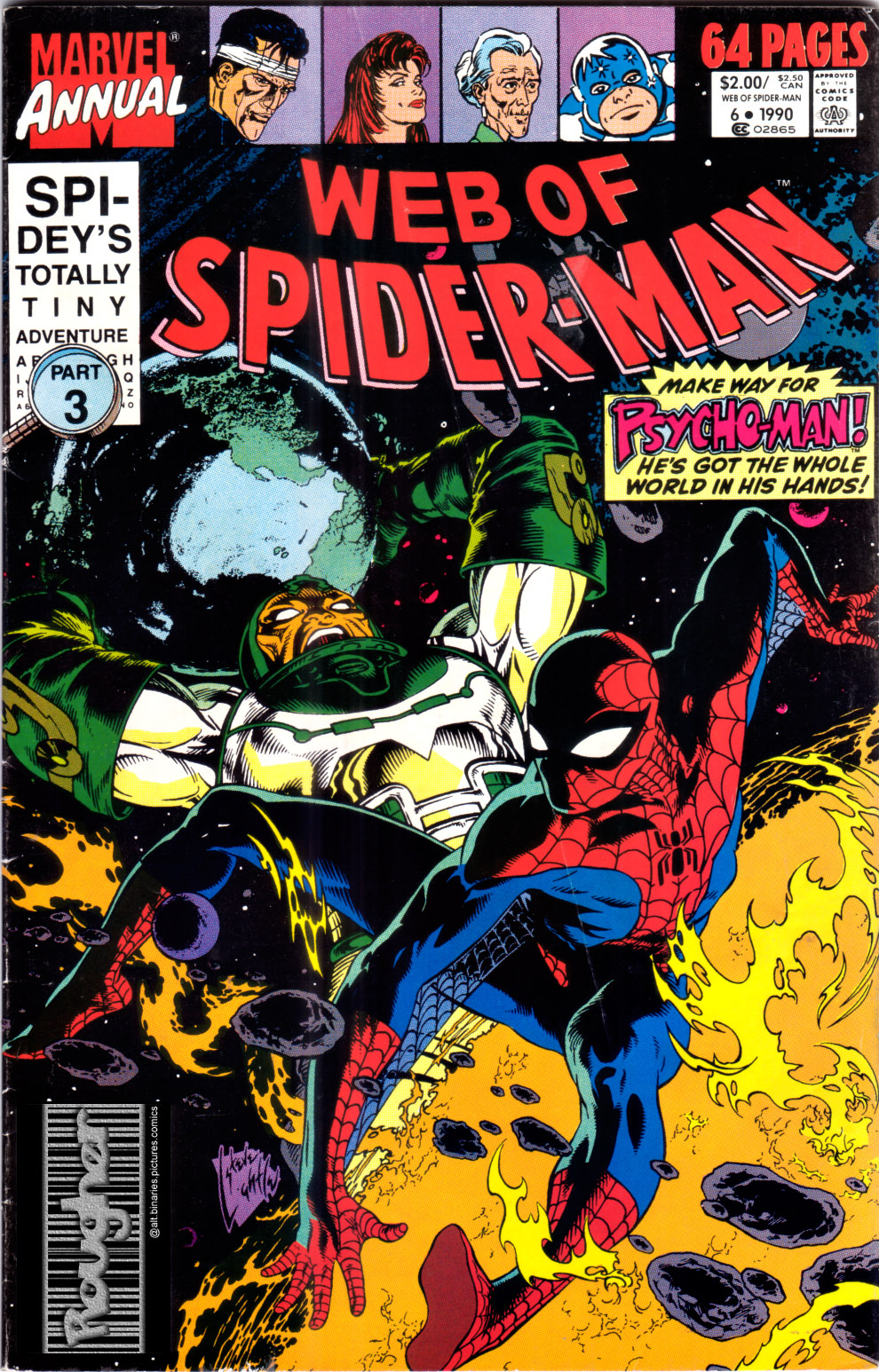 Web of Spider-Man (1985) _Annual_6 Page 1