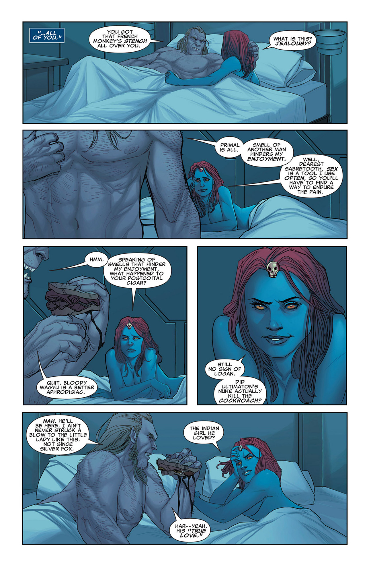 Read online Uncanny X-Force (2010) comic -  Issue #31 - 8