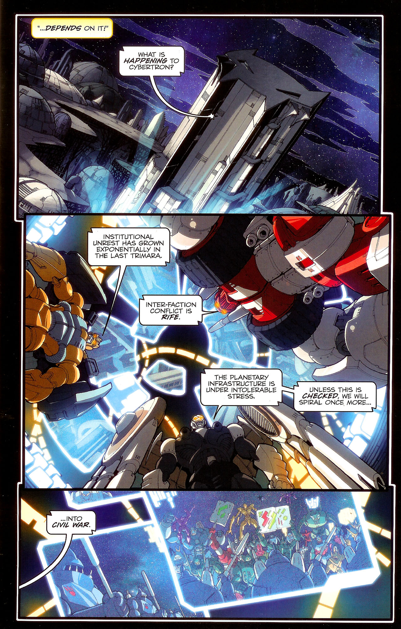 Read online Transformers: Beast Wars: The Ascending comic -  Issue #2 - 12