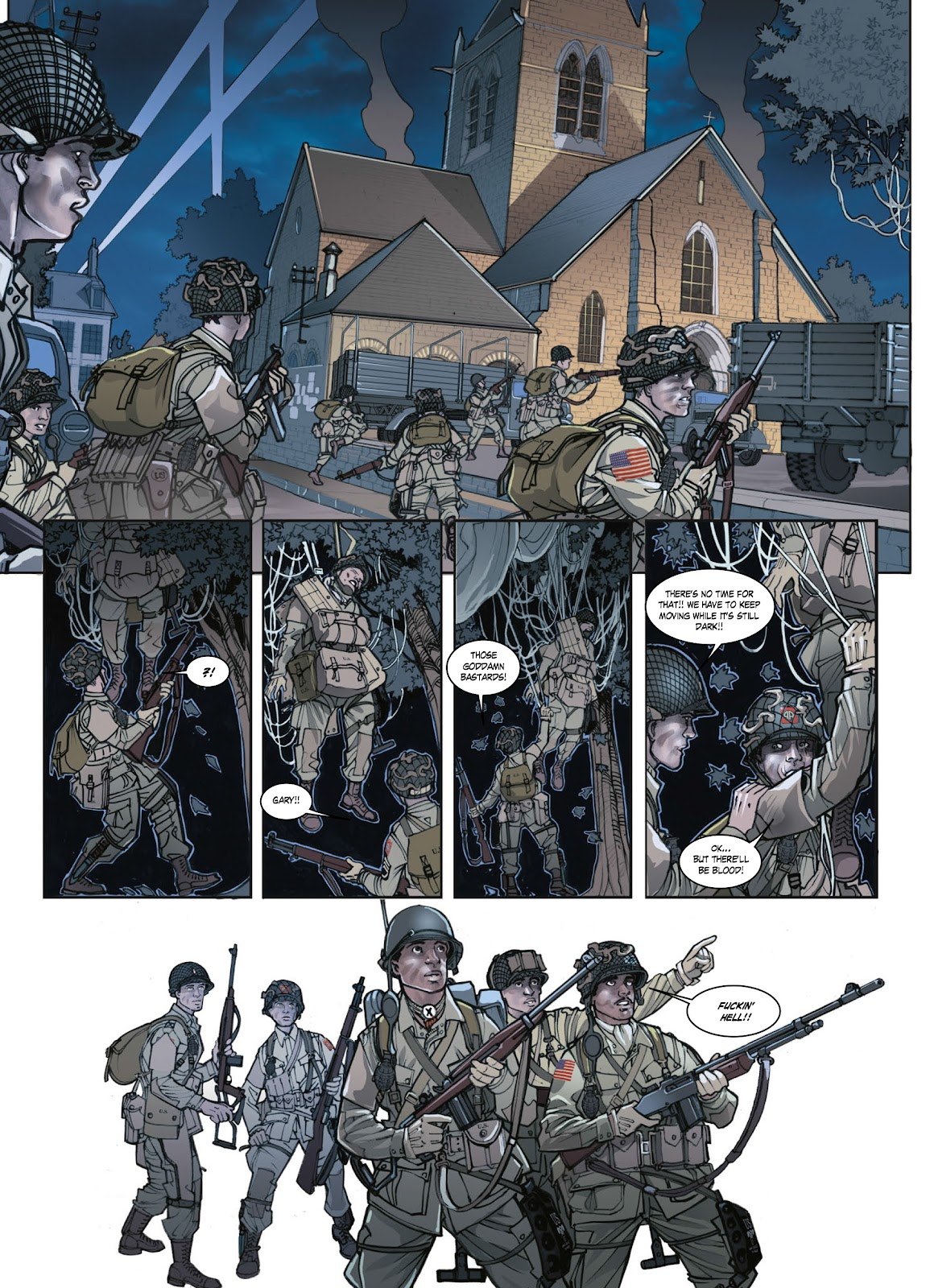 Read online Opération Overlord comic -  Issue #1 - 35