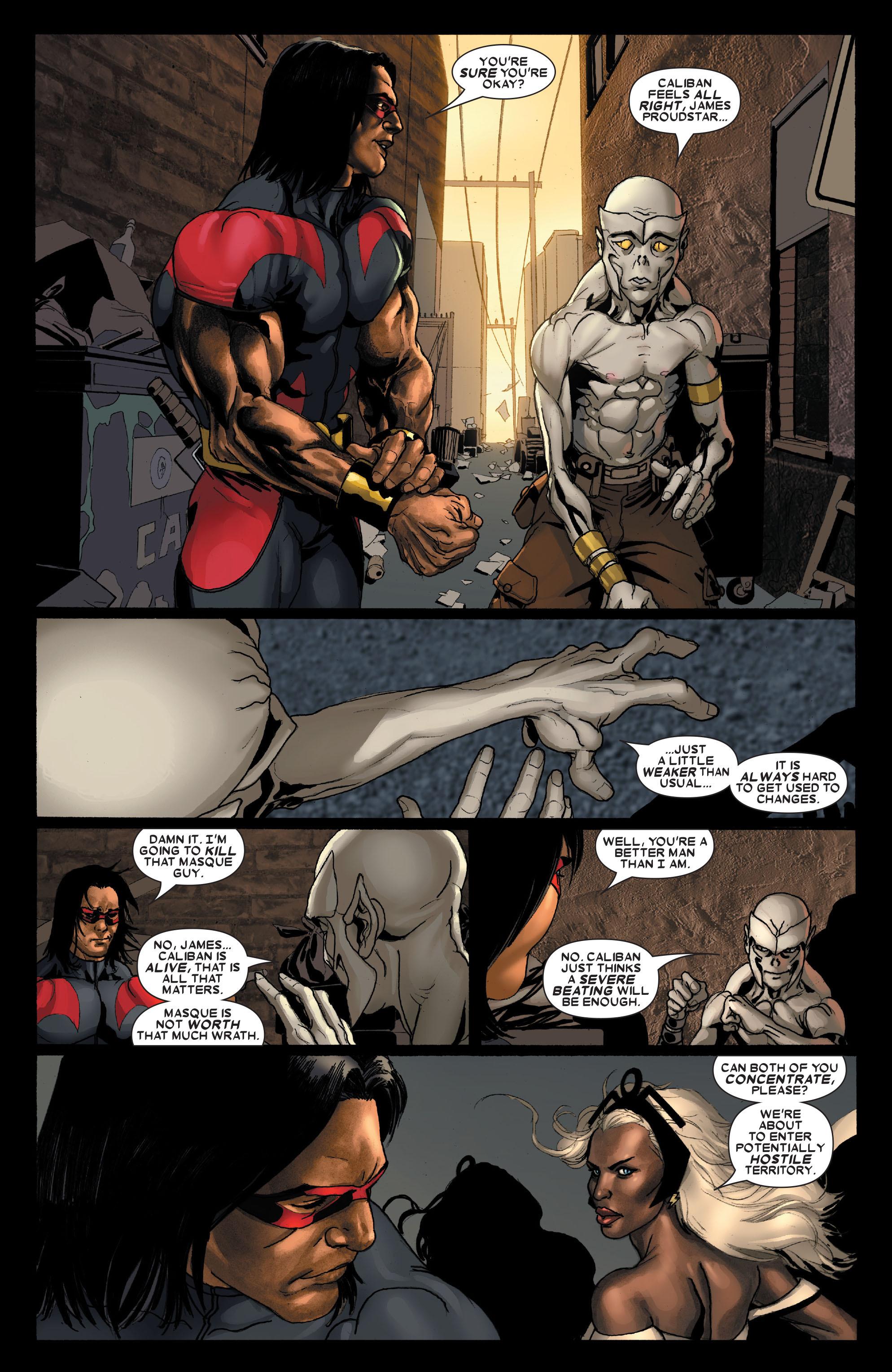 Read online Uncanny X-Men (1963) comic -  Issue #488 - 4