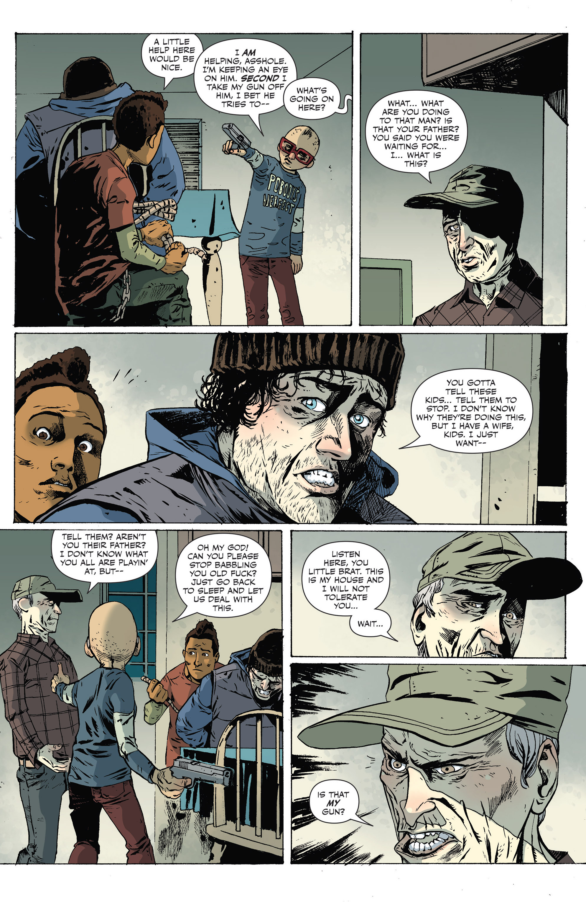 Read online Sheltered comic -  Issue #9 - 15