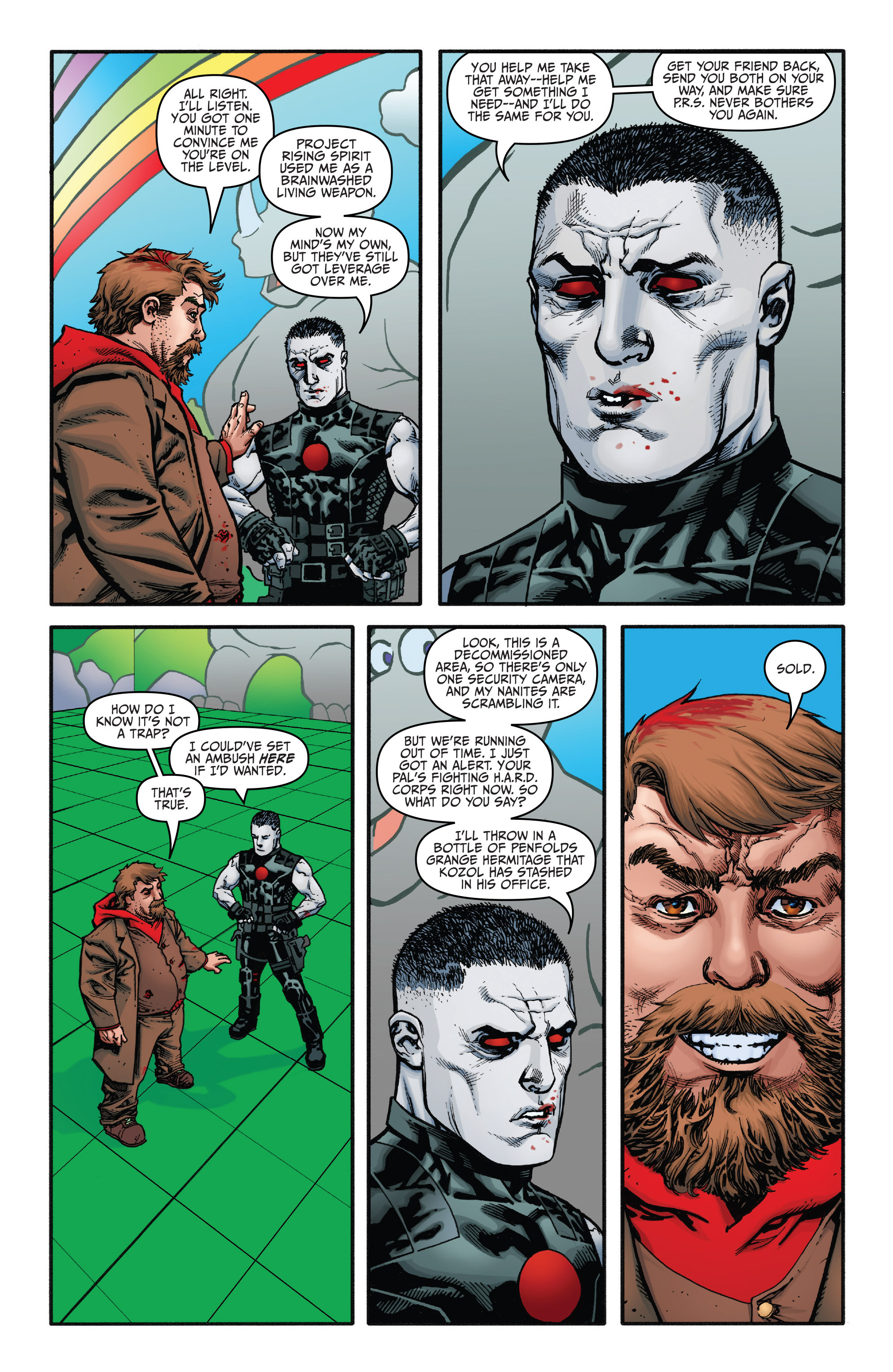 Read online Bloodshot and H.A.R.D.Corps comic -  Issue #21 - 7